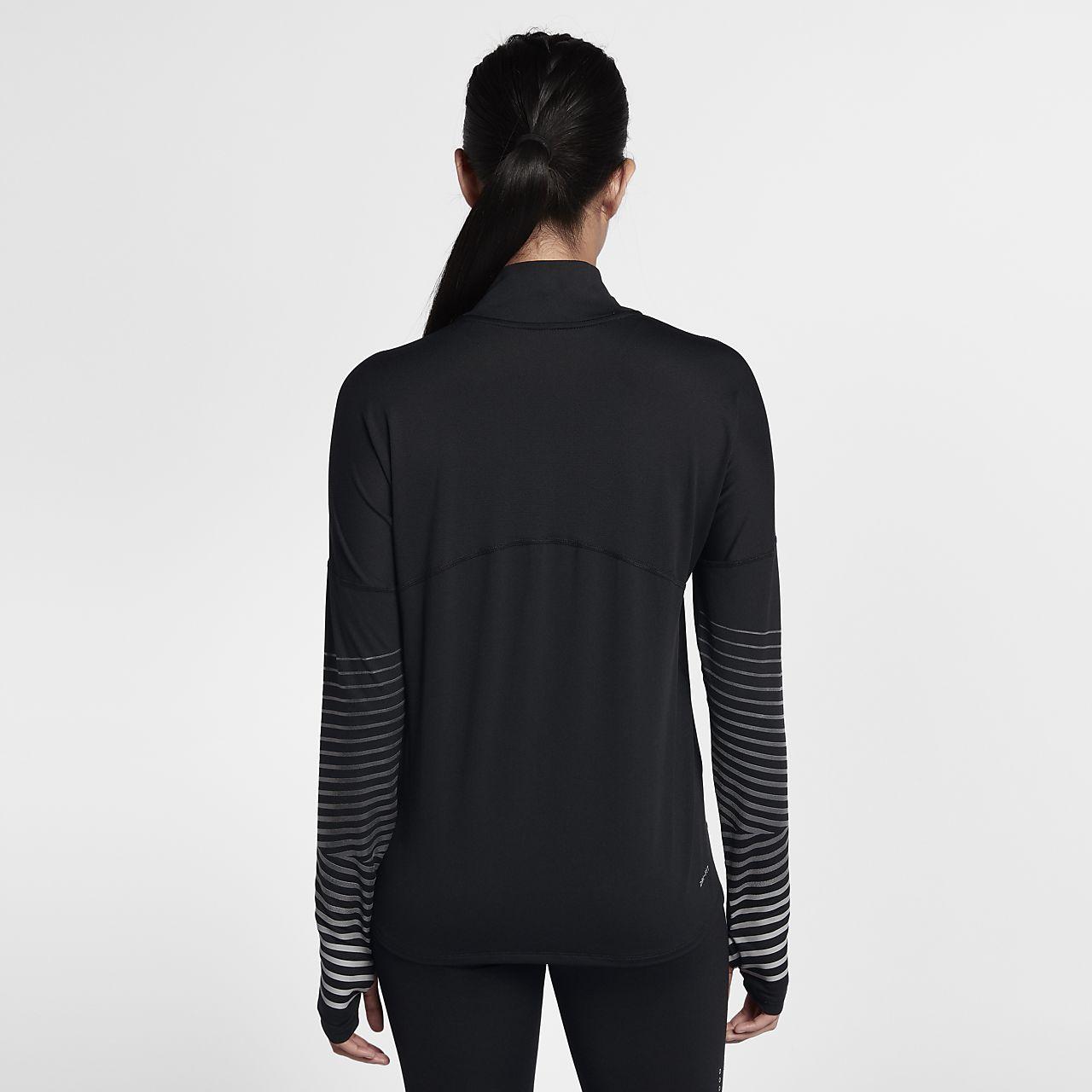 Nike Dri FIT Element Flash Women's Reflective Long Sleeve Running Top