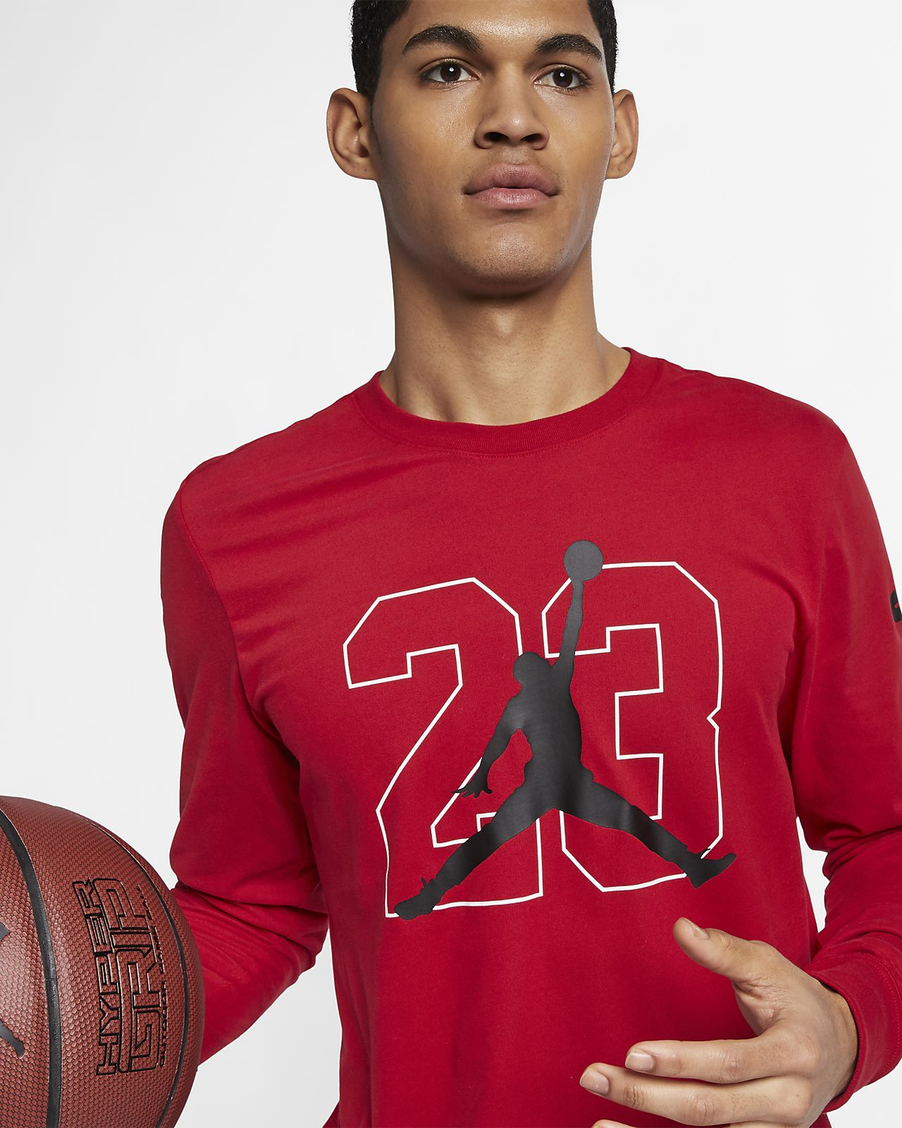 27add412c6ed41 Jordan Men s Graphic Long-Sleeve Basketball T-Shirt. Nike.com