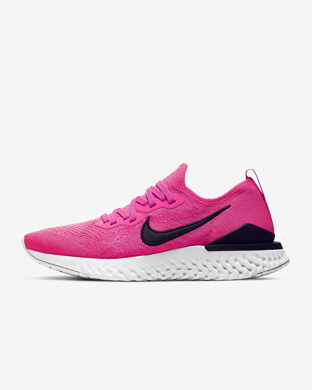 Nike Women's Nike Epic React Flyknit Running Shoe, Size 8.5 M Grey from NORDSTROM | People