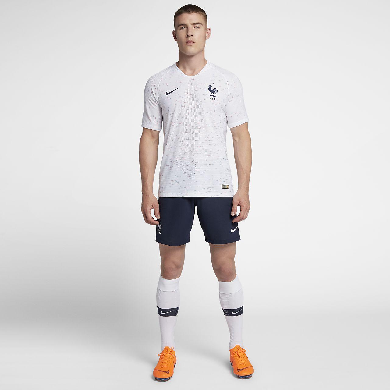 a5cff898 2018 FFF Vapor Match Away Men's Football Shorts. Nike.com SI