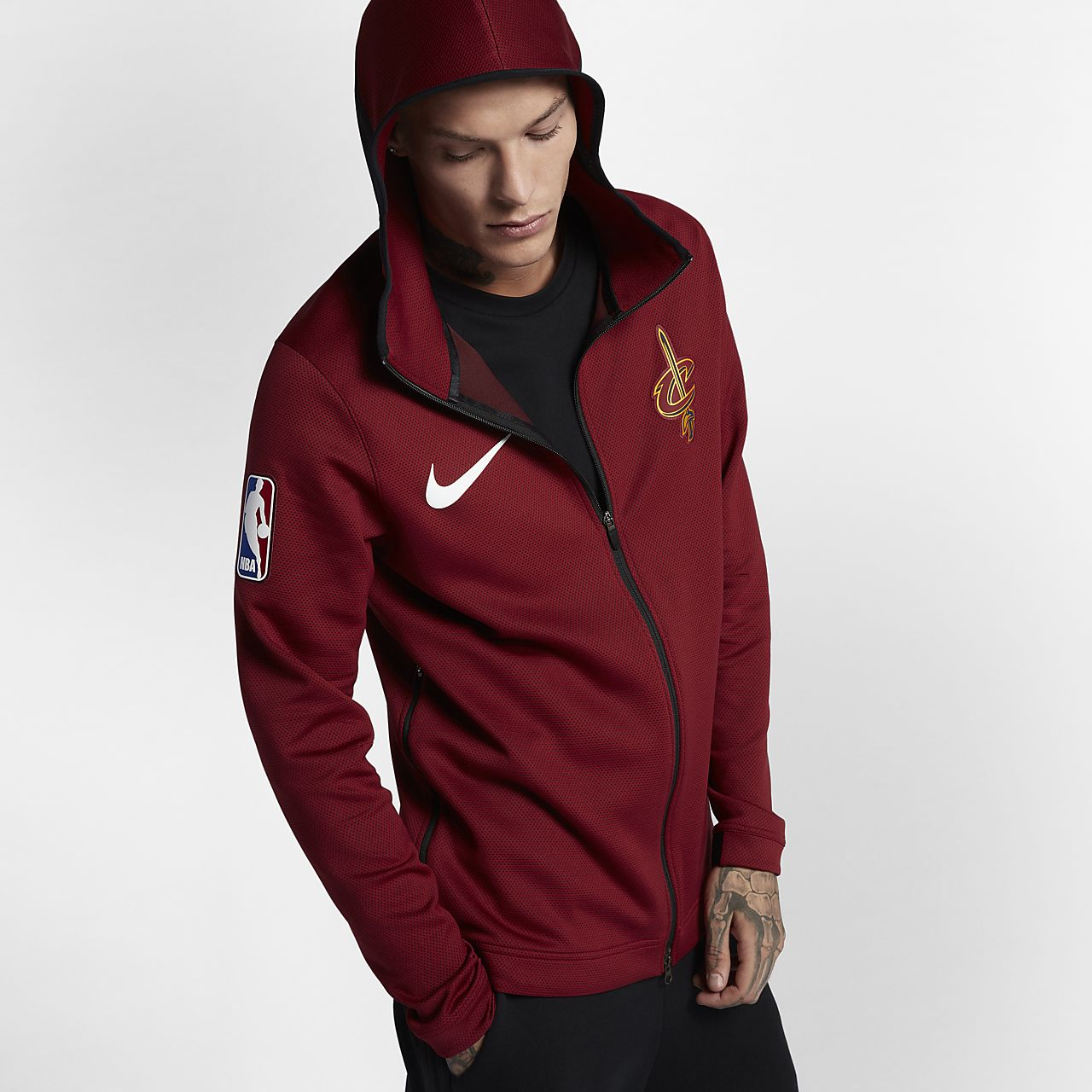 Cleveland Cavaliers Nike Therma Flex Showtime Men s NBA Hoodie. Nike ... 50451793c