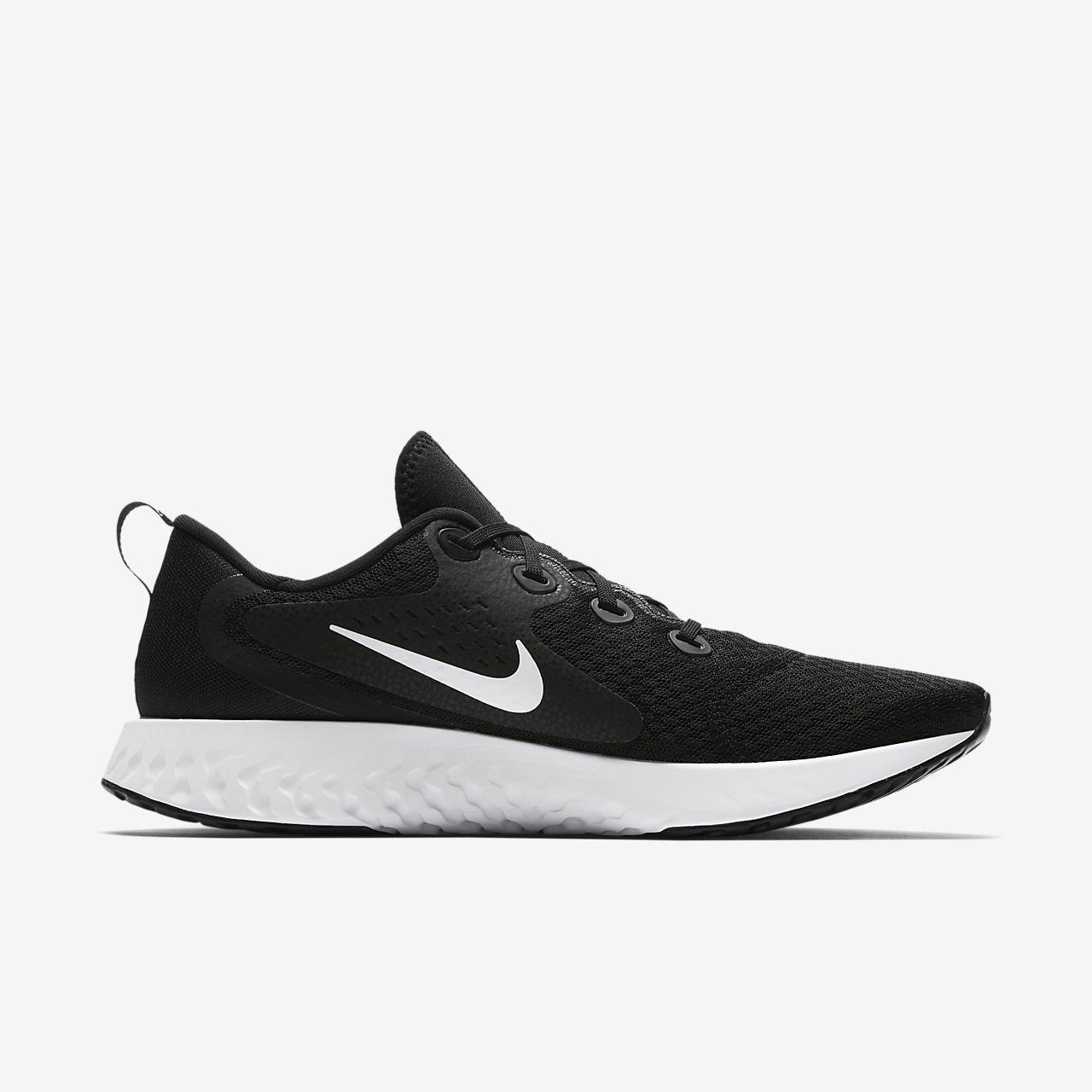 Nike PerformanceLEGEND REACT - Neutral running shoes - black ulns9k