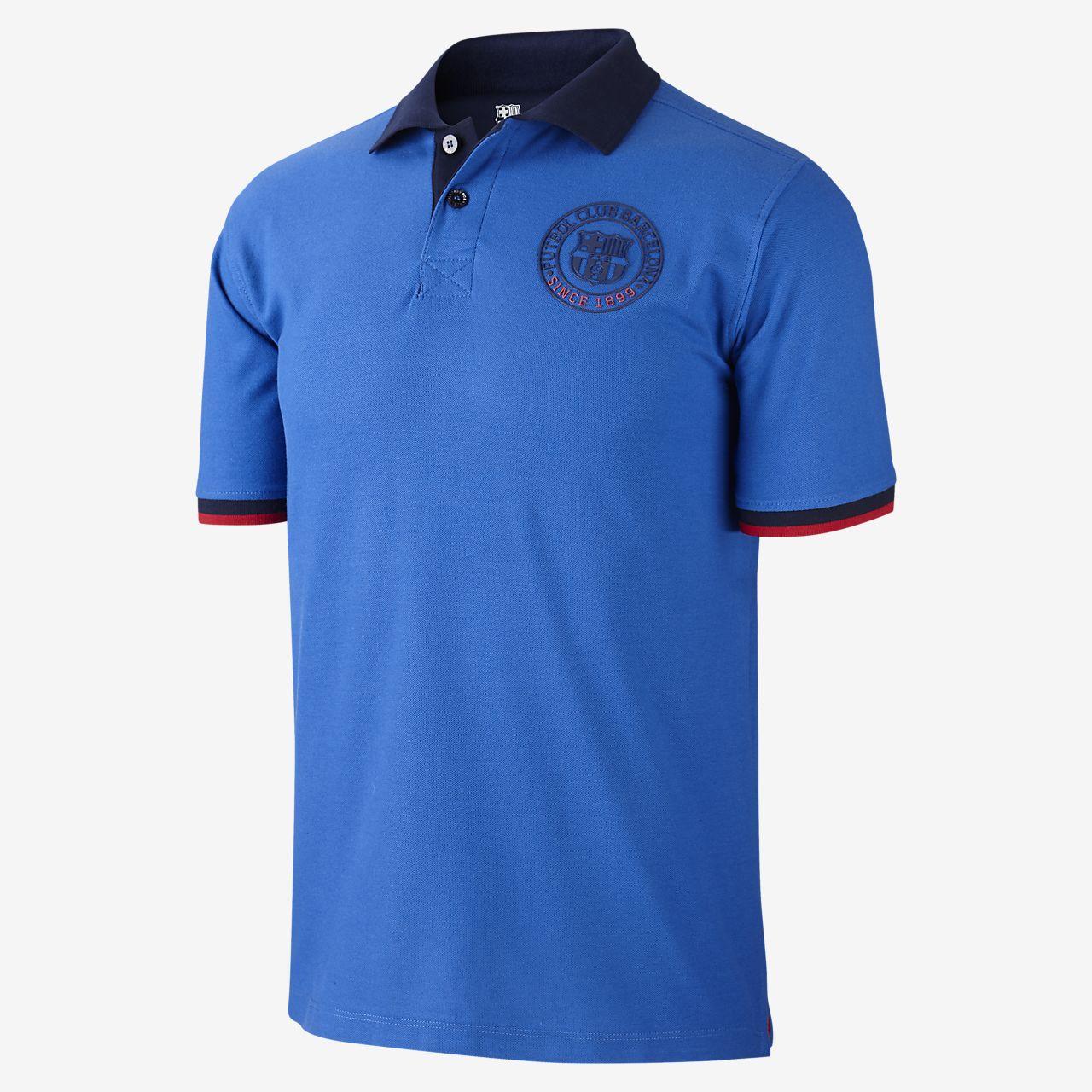 f3c58e306f9 FC Barcelona Core Men s Polo. Nike.com GB