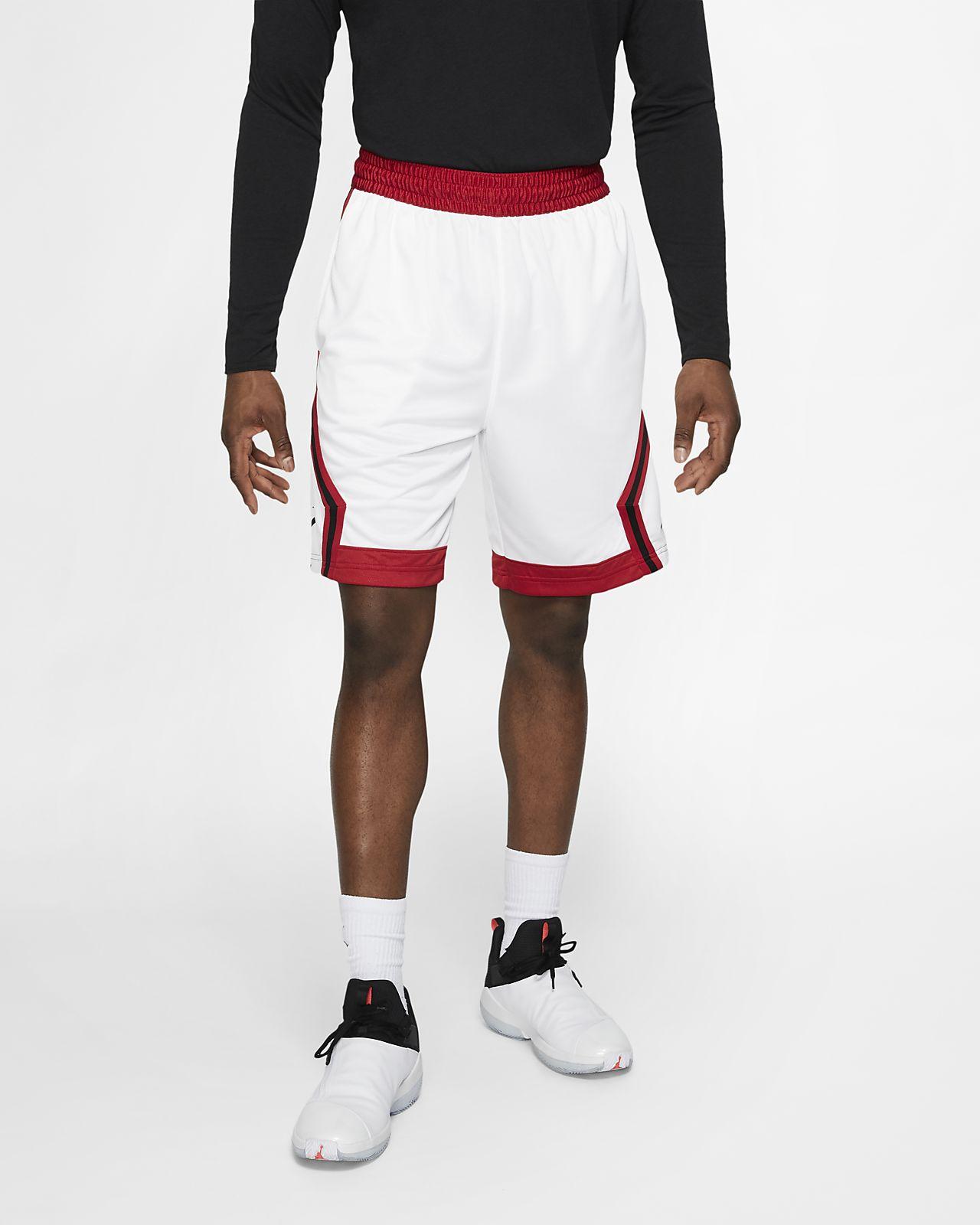 5b179a46e1c7 ... Short de basketball à rayures Jordan Jumpman Diamond pour Homme