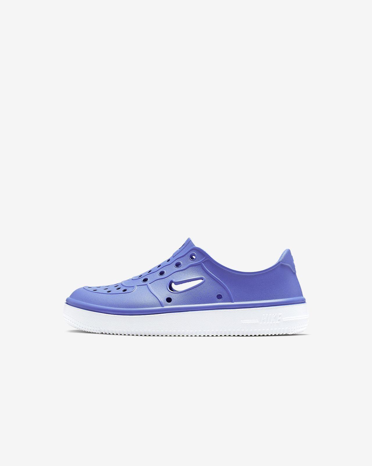 cbc2dd40 Кроссовки для дошкольников Nike Foam Force 1. Nike.com RU