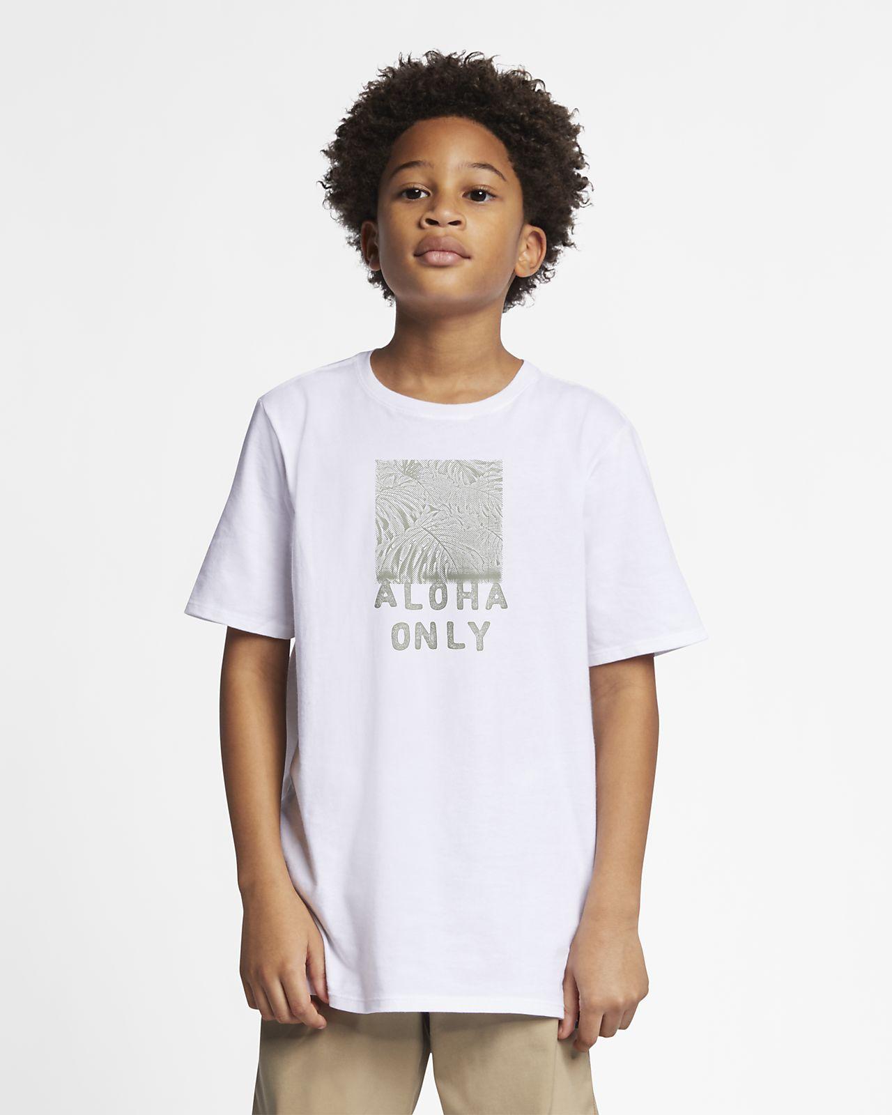 Hurley Premium Aloha Only Boys' T-Shirt