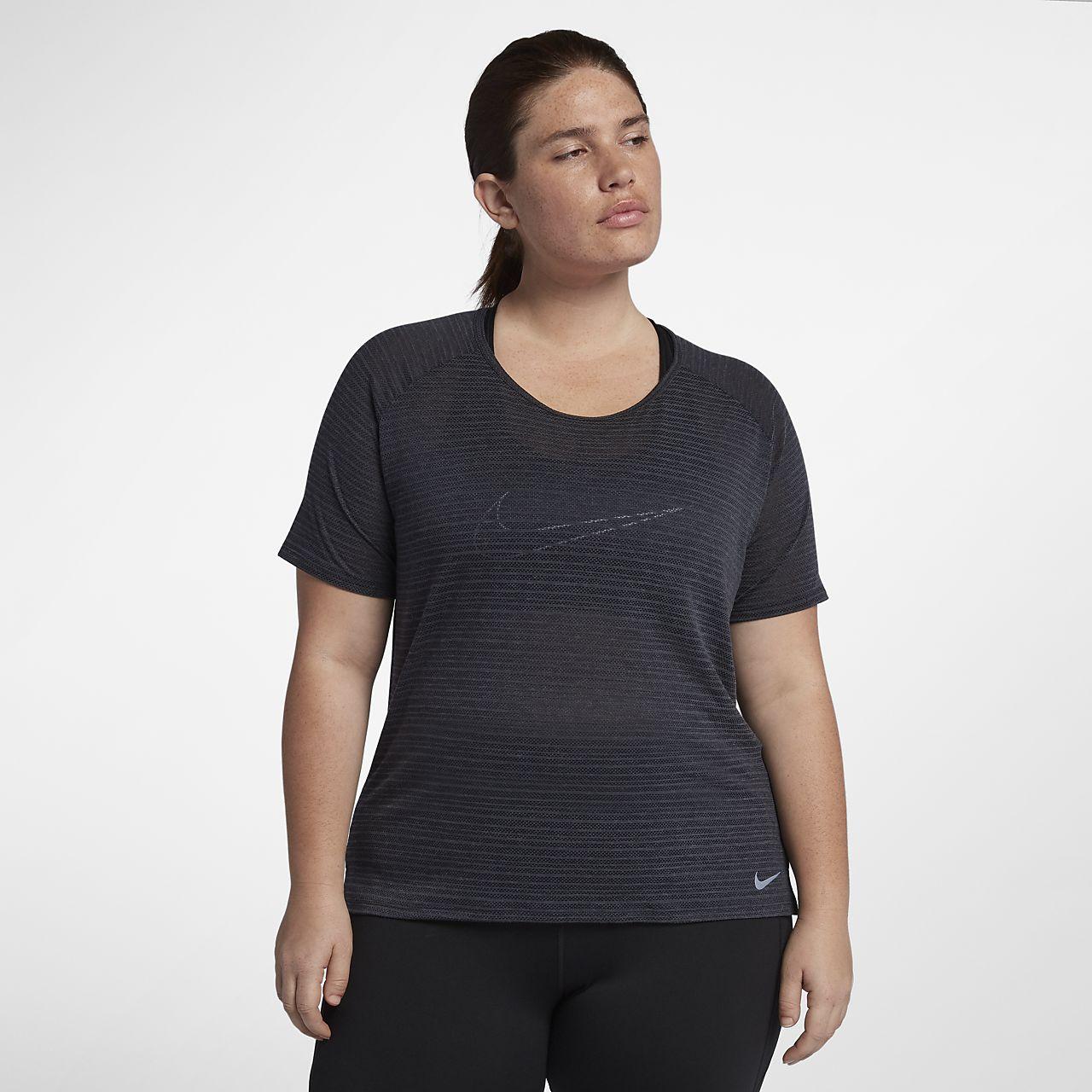 f52f729799d Nike Miler (Plus Size) Women s Short-Sleeve Running Top. Nike.com IE