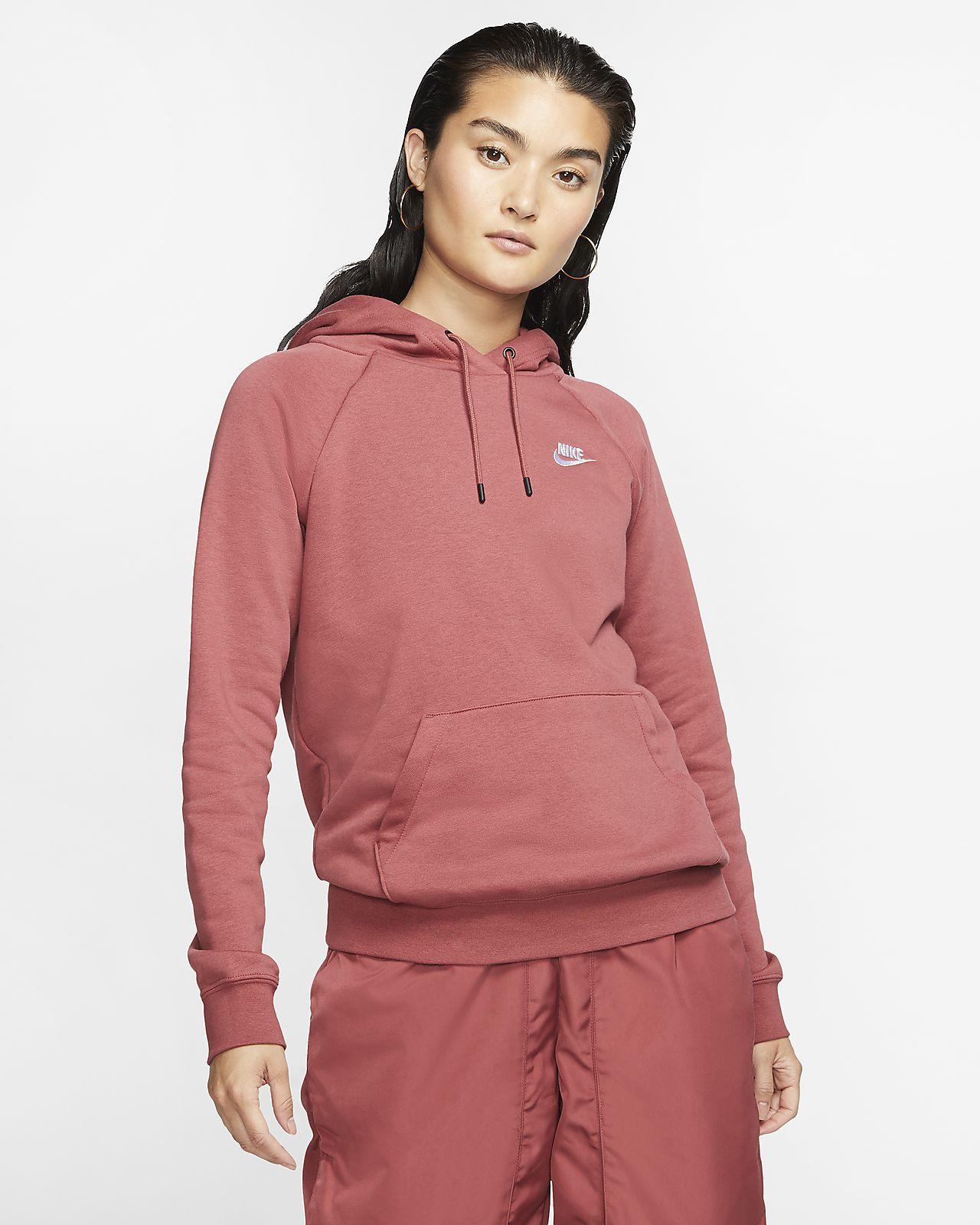 Nike Sportswear Essential Women\u0027s Fleece Pullover Hoodie