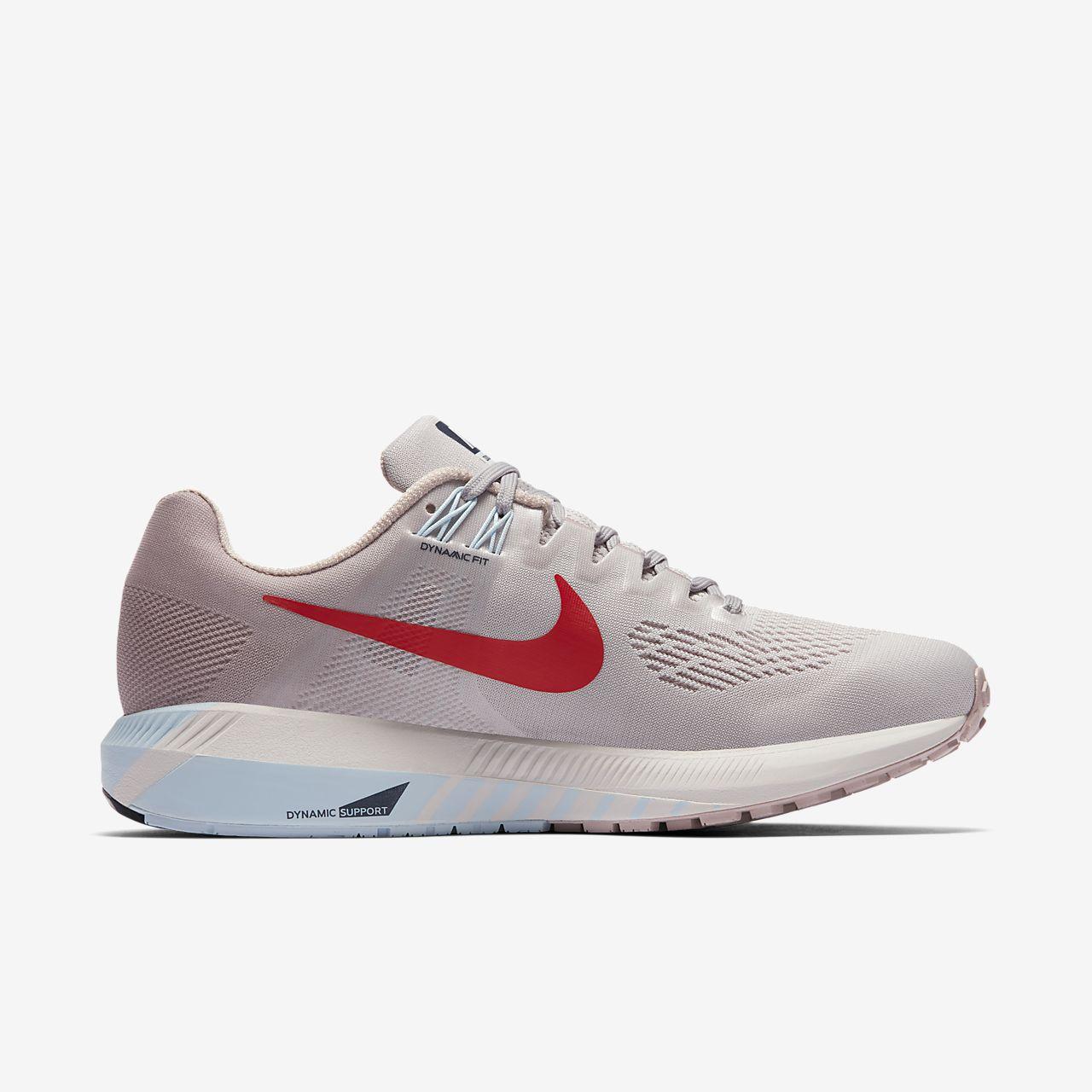 Nike AIR ZOOM STRUCTURE 21 Gris nxJkdI1