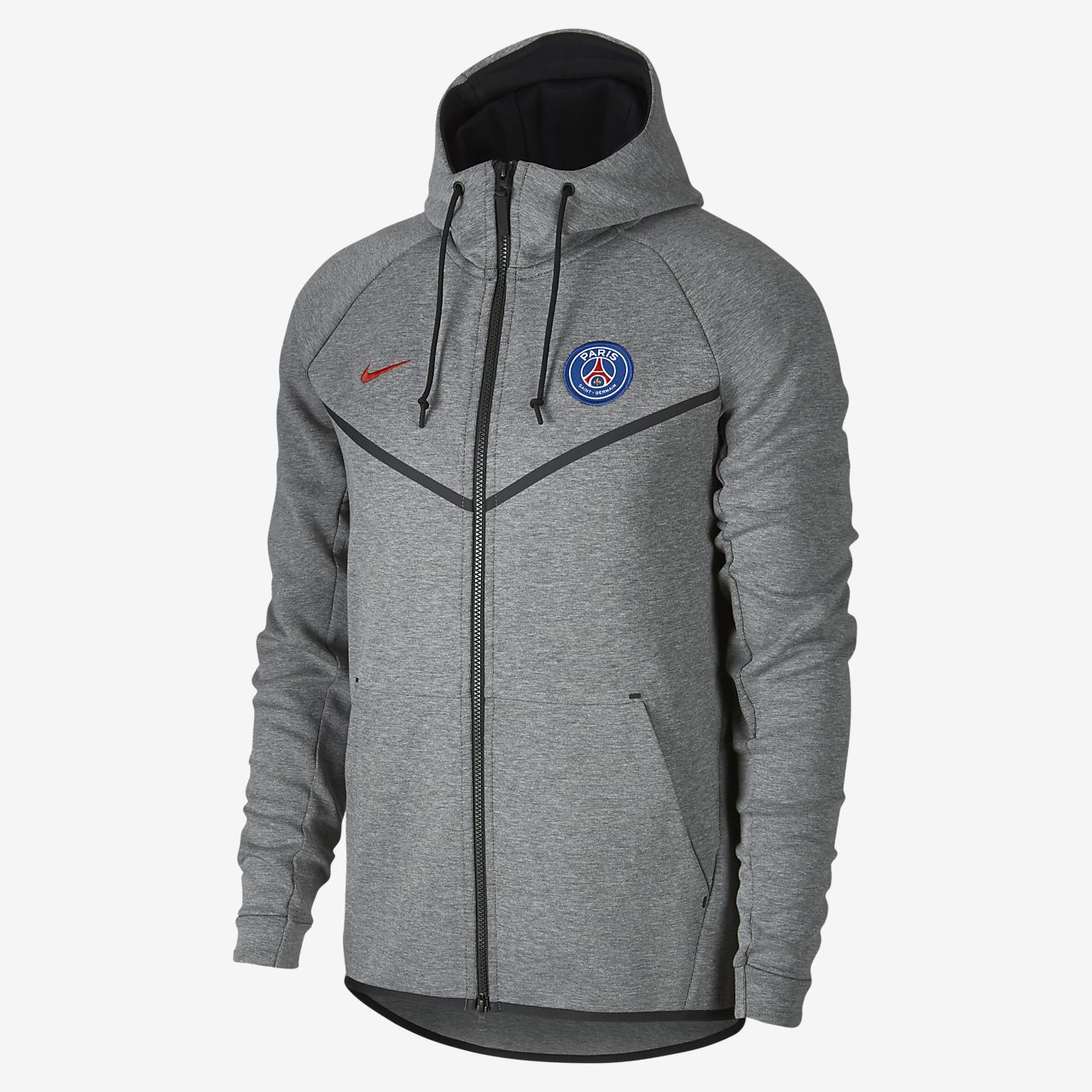 ... Paris Saint-Germain Tech Fleece Windrunner Men's Jacket