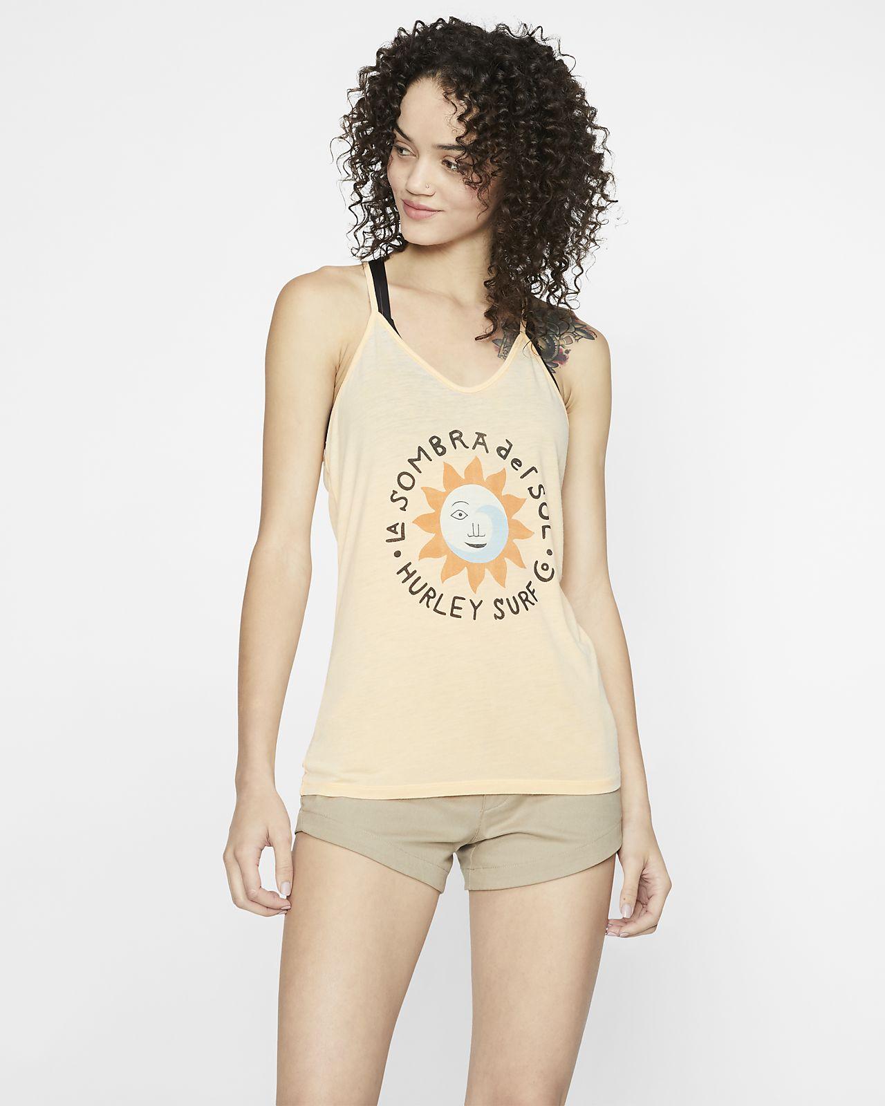 Hurley La Sombra Camiseta de tirantes - Mujer
