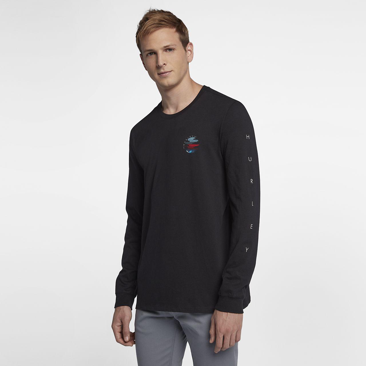 Hurley Peli Men's Long Sleeve T-Shirt. Nike.com