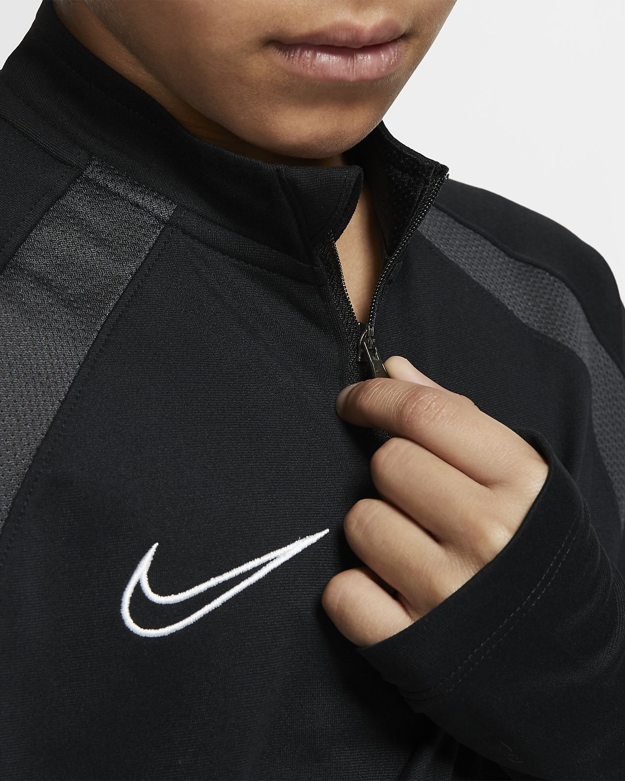 7f03b25b79 Nike Dri-FIT Academy Older Kids' Football Drill Top