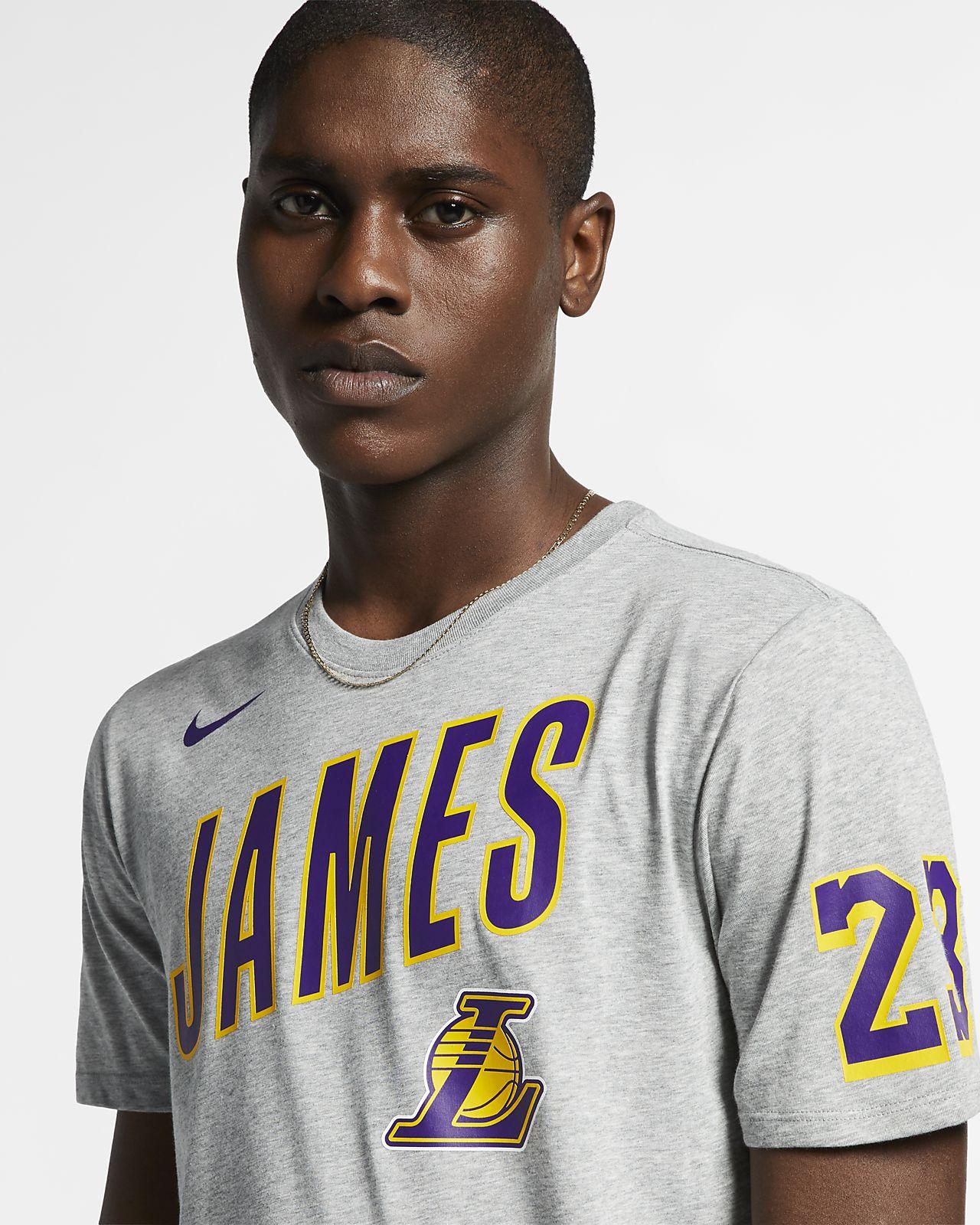999c905b0e Tee-shirt NBA Los Angeles Lakers Nike Dri-FIT pour Homme. Nike.com FR
