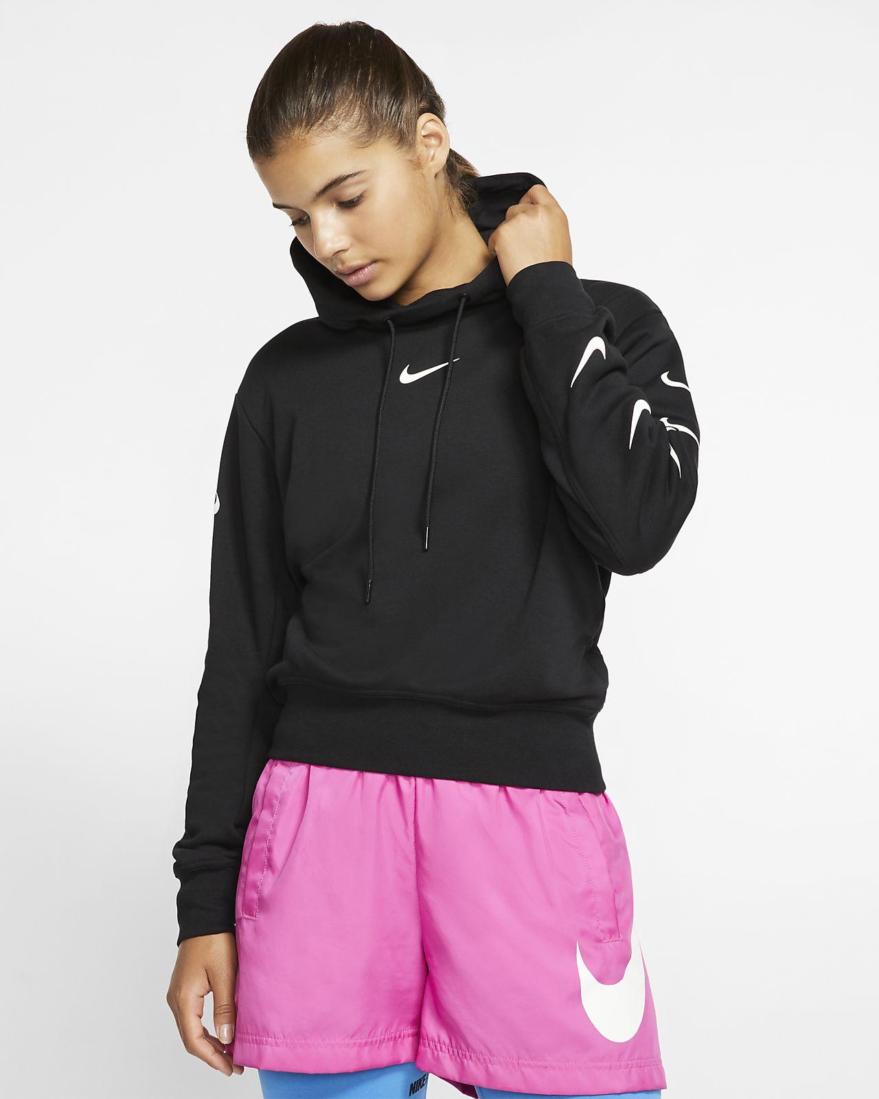 new style daf95 379fc Nike Sportswear Swoosh Damen-Hoodie