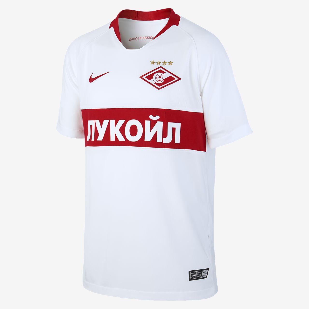e65b192c0e4 2018 19 FC Spartak Moscow Stadium Away Older Kids  Football Shirt ...