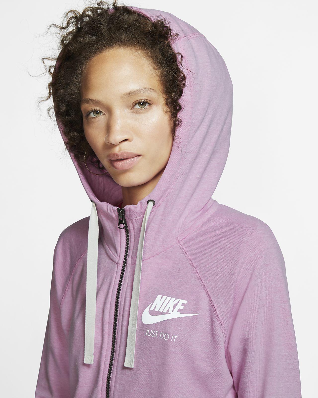 0c7910720eae5 Nike Sportswear Gym Vintage Women's Full-Zip Hoodie