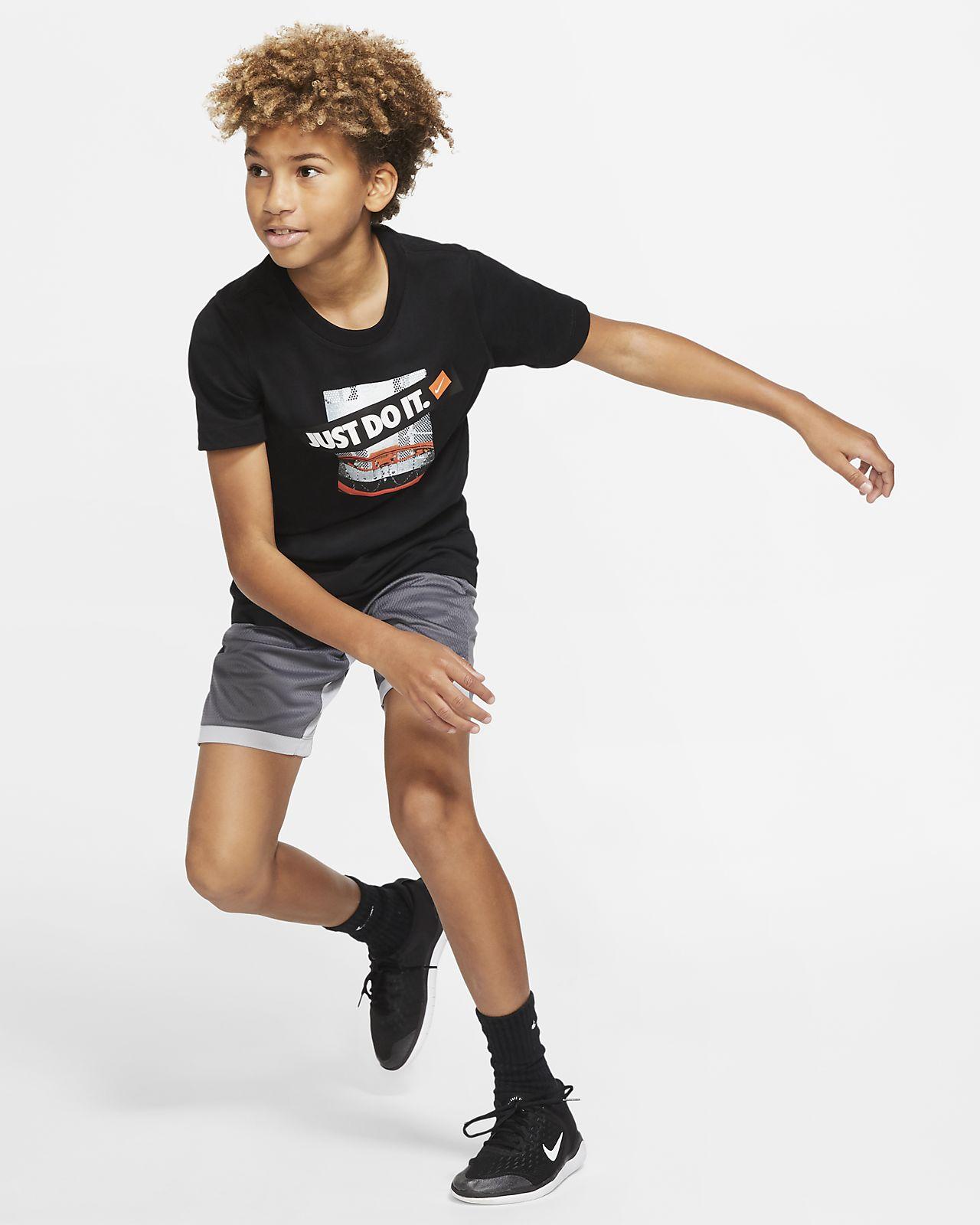 Nike Dri-FIT Basketball-T-Shirt für ältere Kinder