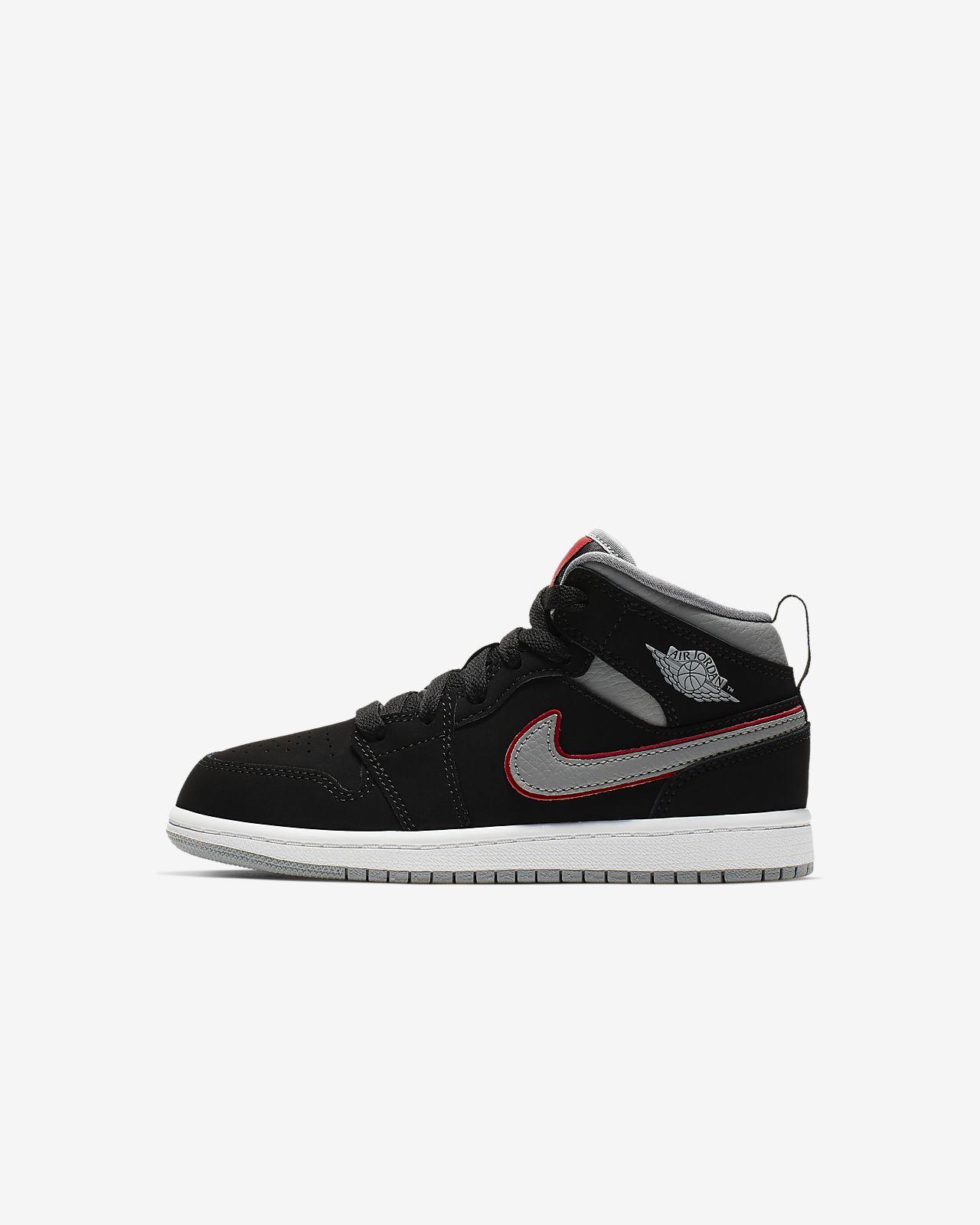 Air Jordan 1 Mid - sko til små børn