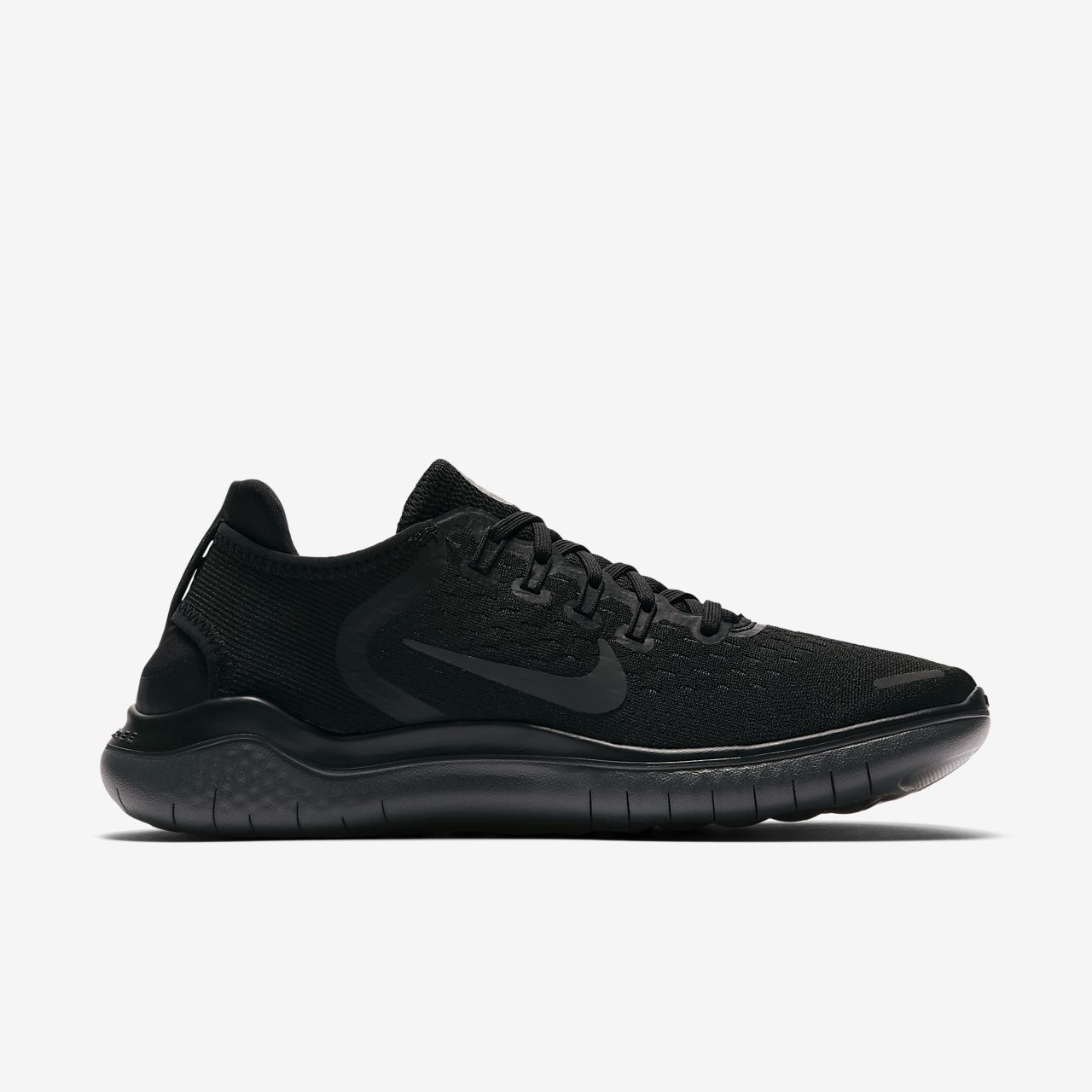 Free RN 2017, Scarpe Running Uomo, Nero (Black/Anthracite-Dark Grey-Cool Grey), 42 EU Nike