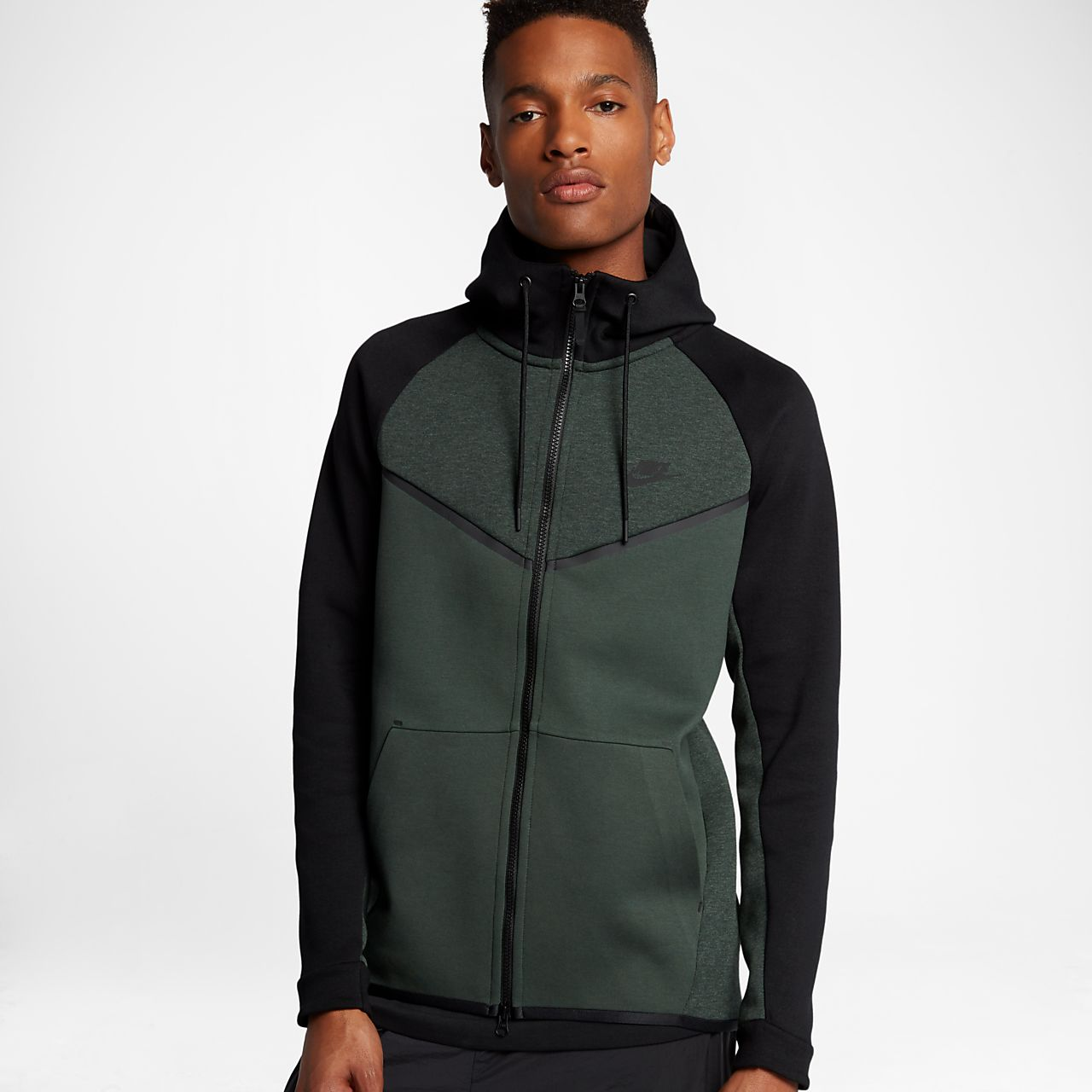 48dc8eb3 Nike Sportswear Tech Fleece Windrunner Men's Full-Zip Hoodie