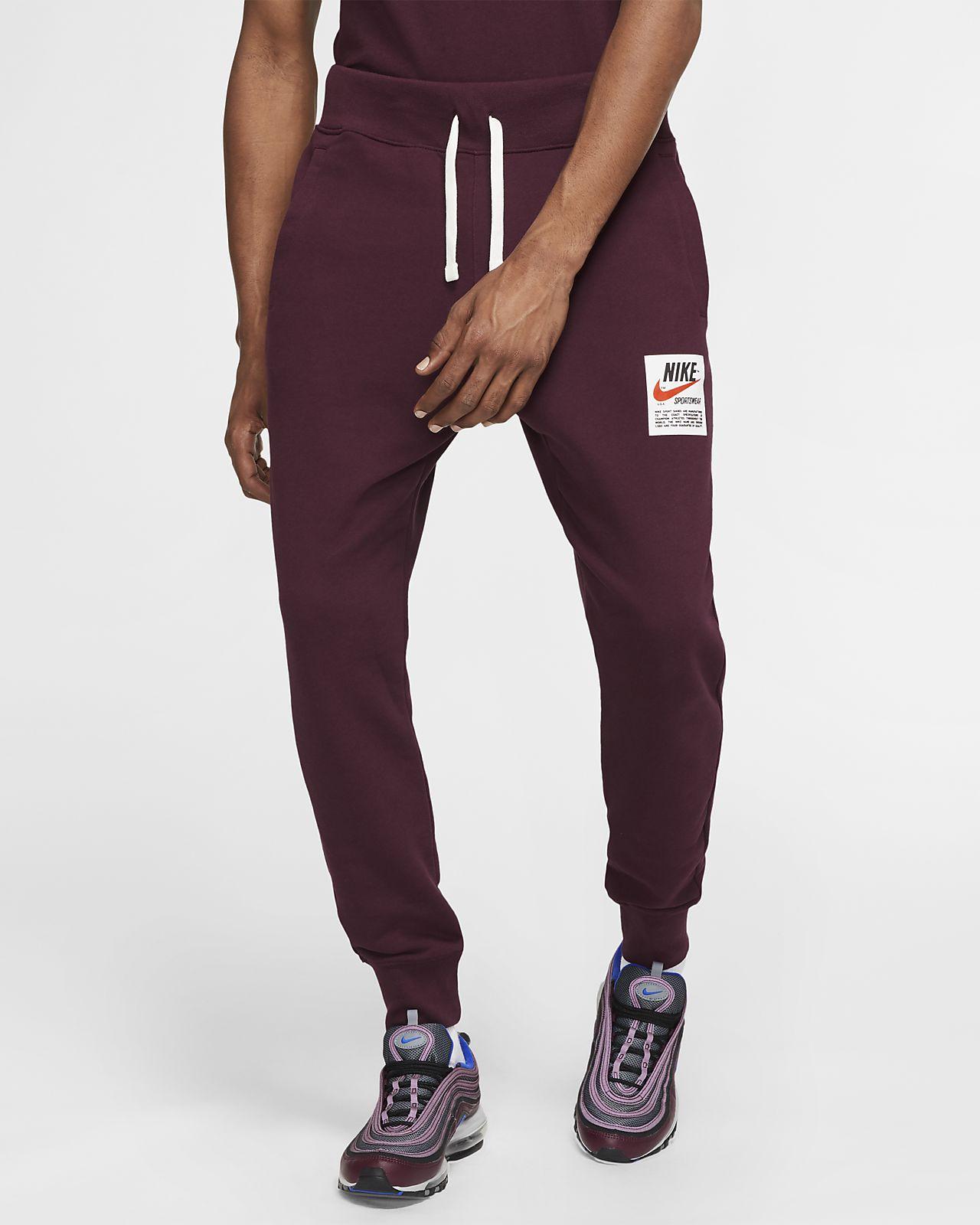 Nike Sportswear Club–joggingbukser med print til mænd