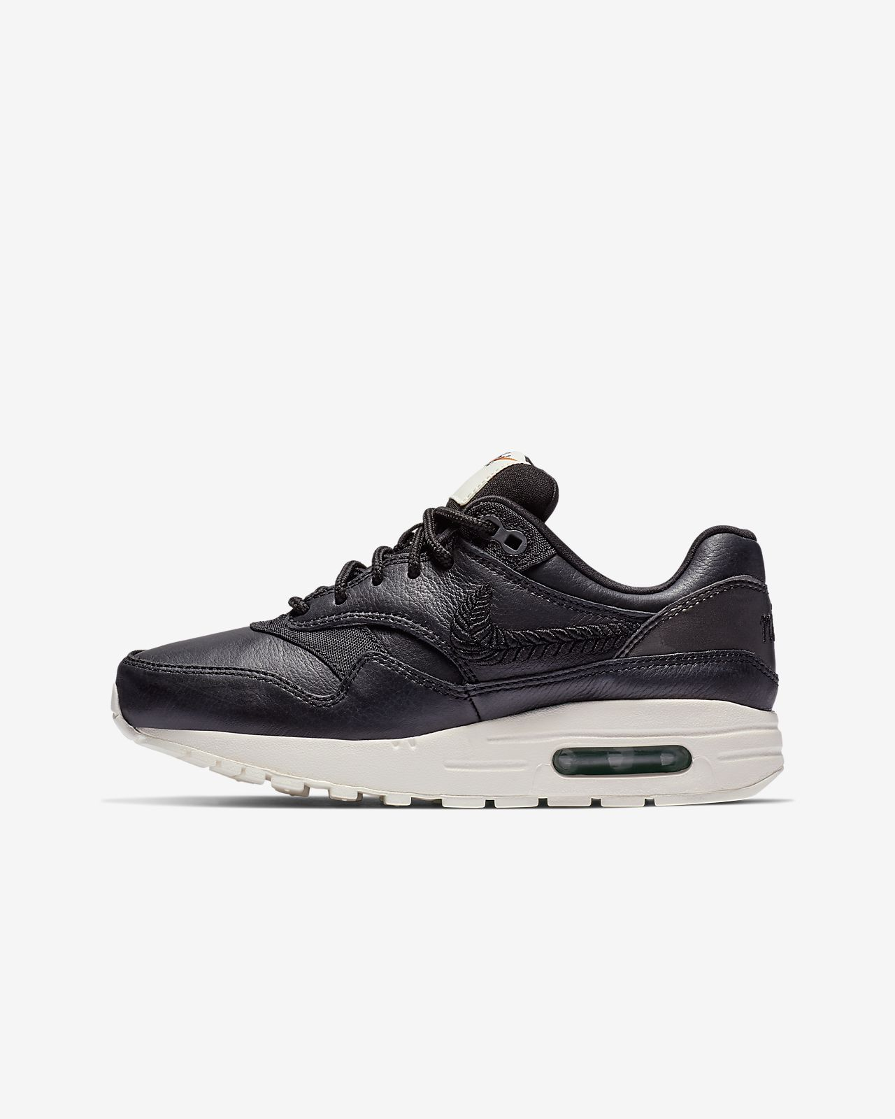 Nike Air Max 1 Premium Embroidered Older Kids' Shoe