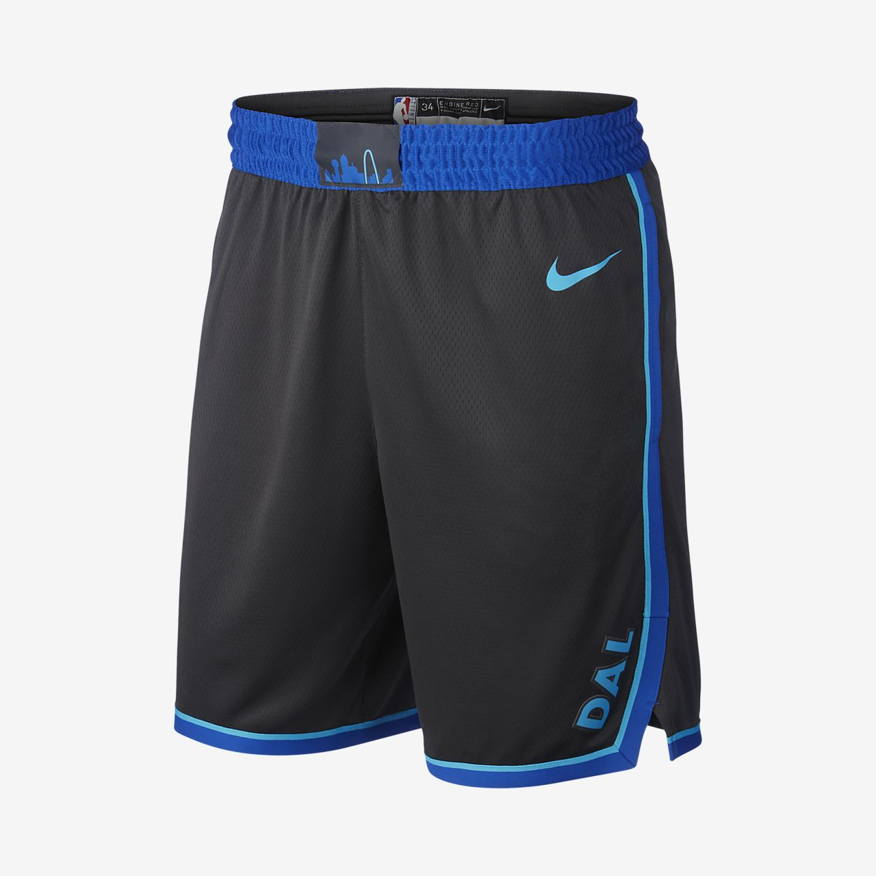 Dallas Mavericks City Edition Swingman Pantalón corto de la NBA Nike -  Hombre 430ee9abfb7