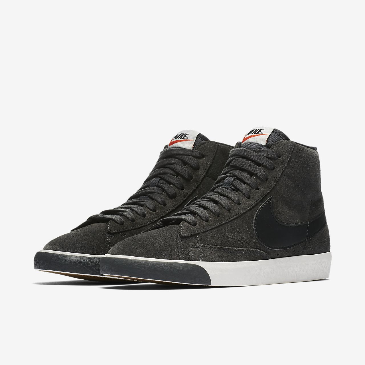 Women's Nike Blazer Low Lx In women's size 8 color is Smokey Mauve/Sepia Red toe box is a velour, sides of shoes are suede and laces have cute silver lace caps Super cute shoes and in great condition.