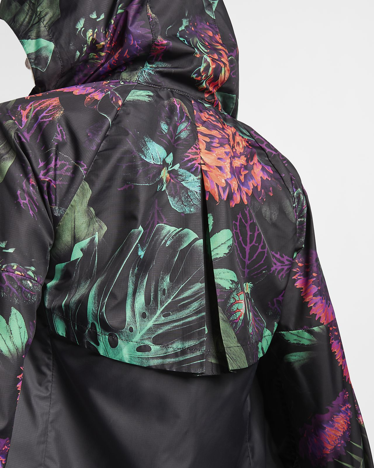 4c59255b ... Nike Sportswear Windrunner 'Floral' Older Kids' (Girls') Floral  Windbreaker