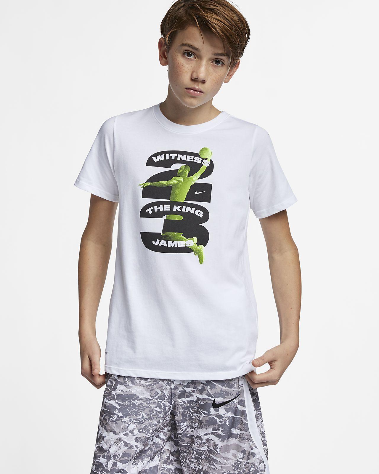 95131b61a Nike Dri-FIT LeBron Big Kids' (Boys') Basketball T-Shirt. Nike.com