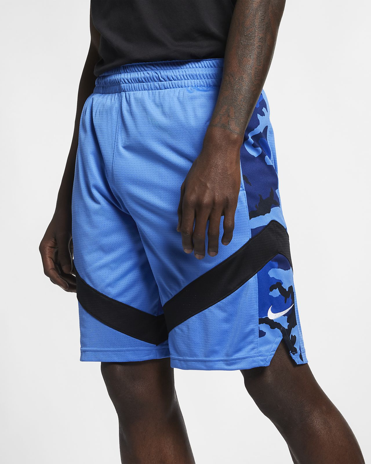 ナイキ Dri-FIT コートライン メンズ プリンテッド バスケットボールショートパンツ