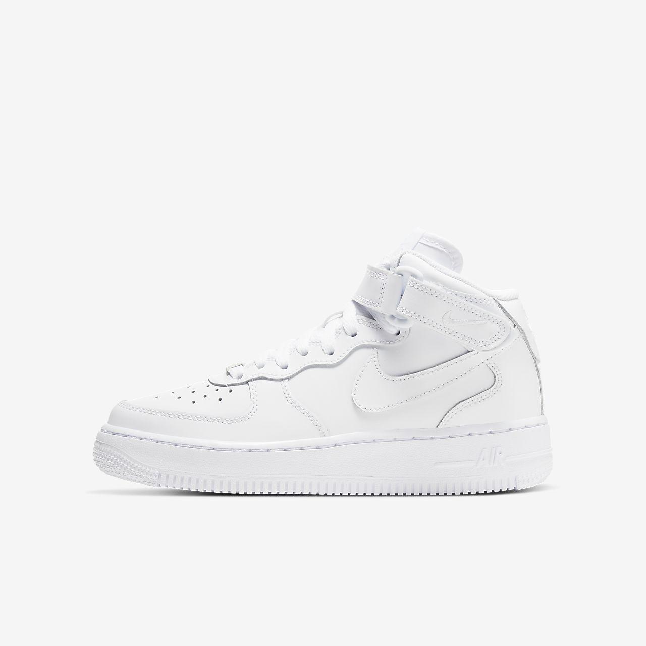 Calzado para niños talla grande Nike Air Force 1 Mid 06