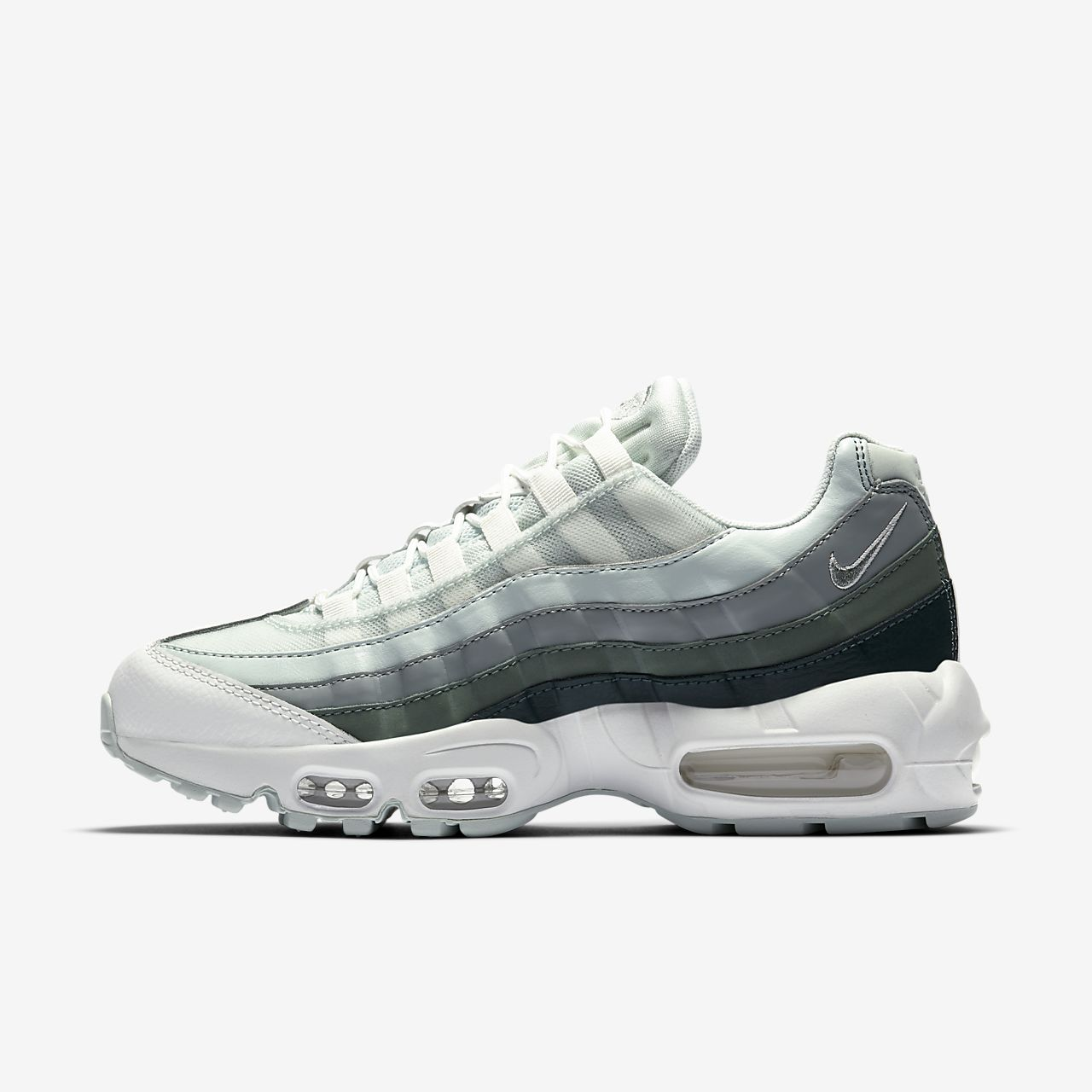 Buy air max 95 green and grey > Up to 44% Discounts