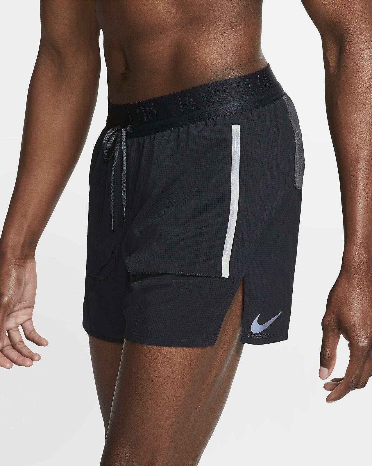 Calções de running forrados Nike para homem