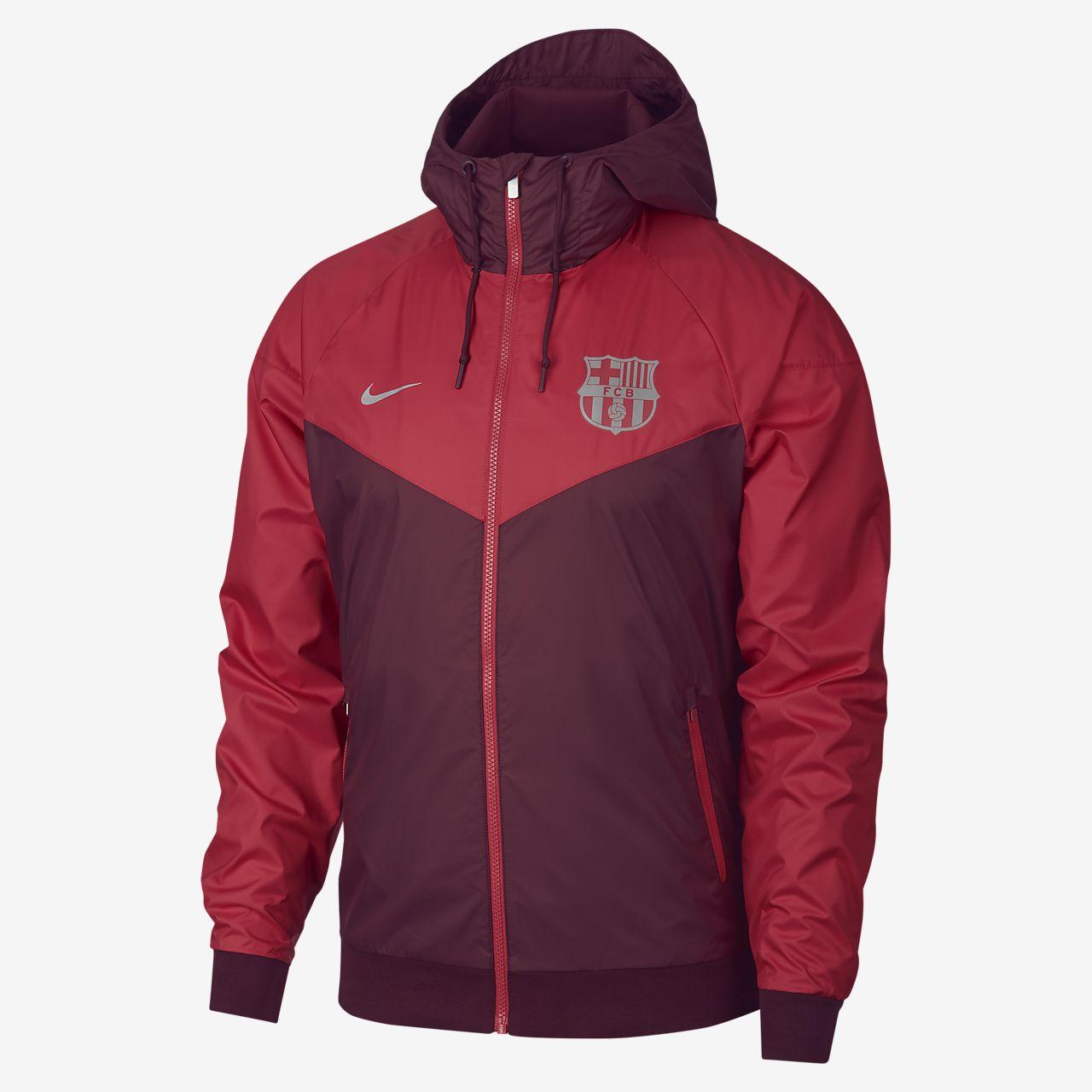 Pánská bunda FC Barcelona Windrunner. Nike.com CZ 6aeca132c35
