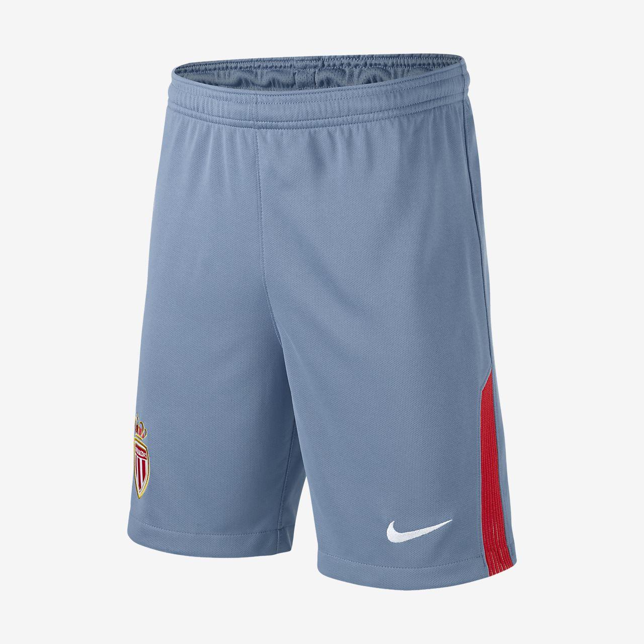 Calções de futebol 2017 18 A.S. Monaco FC Stadium Home Away Júnior ... 2cb625f3ab439
