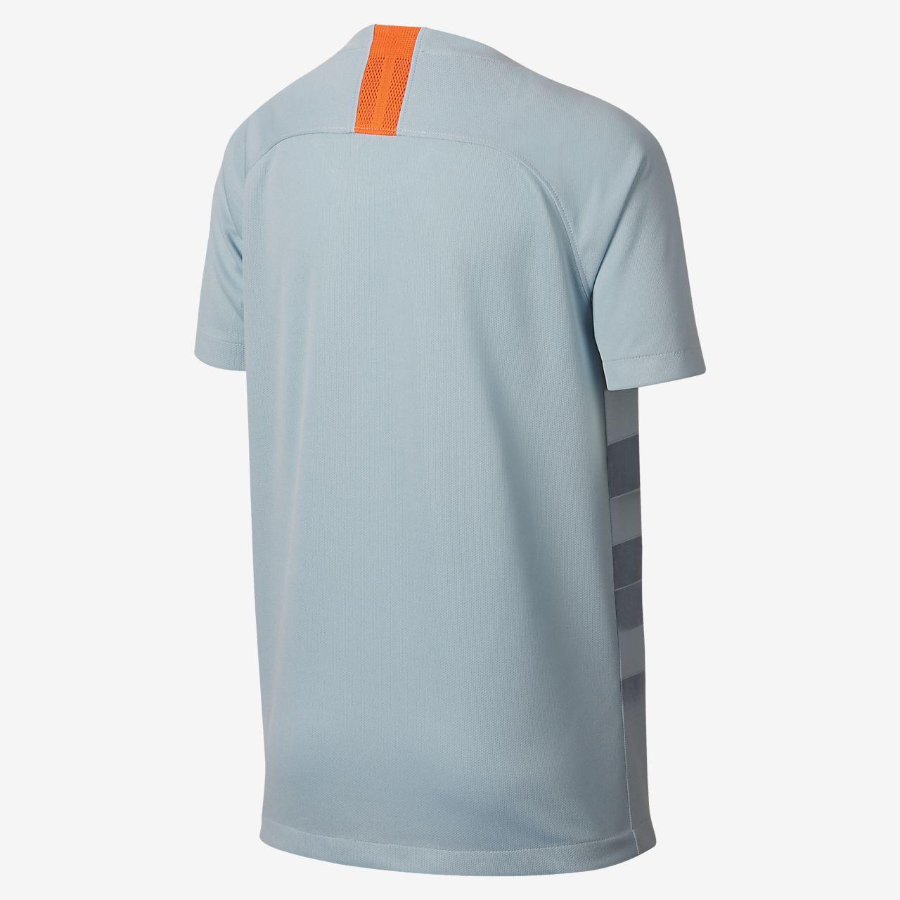 458b7f0abe888 ... Camiseta de fútbol para niños talla grande alternativa Stadium del  Chelsea FC 2018 19