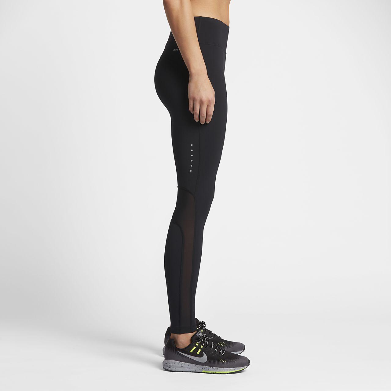 Nike Epic Lux SchwarzSchwarz  Running Tights
