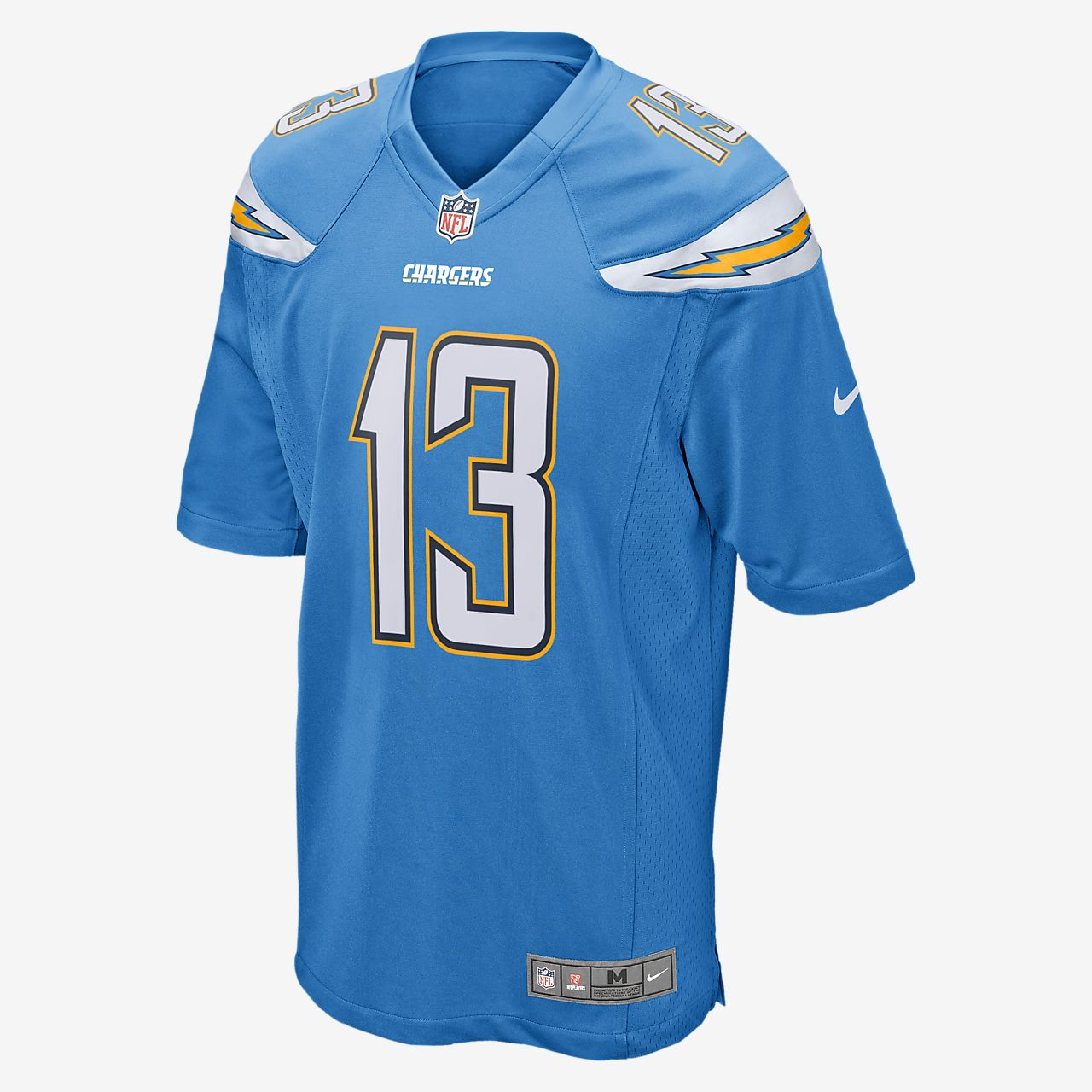 NFL Los Angeles Chargers (Keenan Allen) Men's Football Alternate Game Jersey