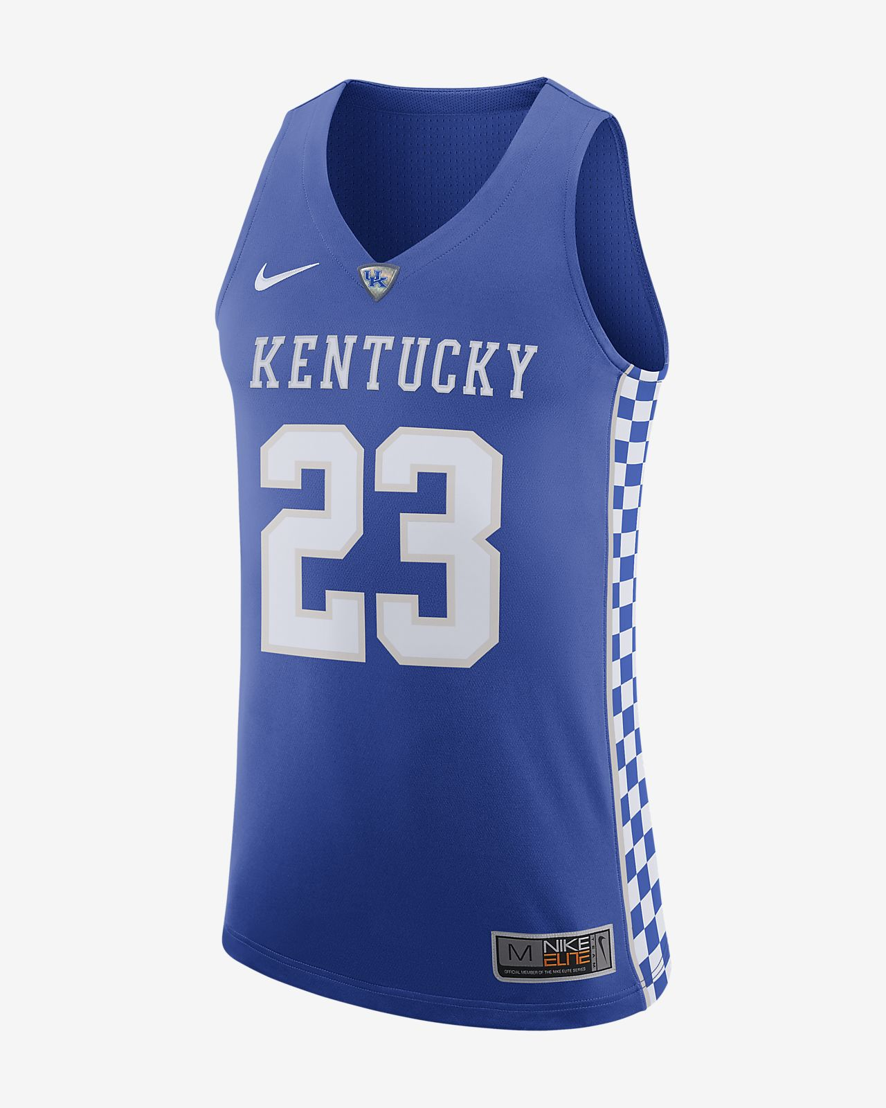 sale retailer fc2a2 01165 Nike College Authentic (Kentucky) Men's Basketball Jersey
