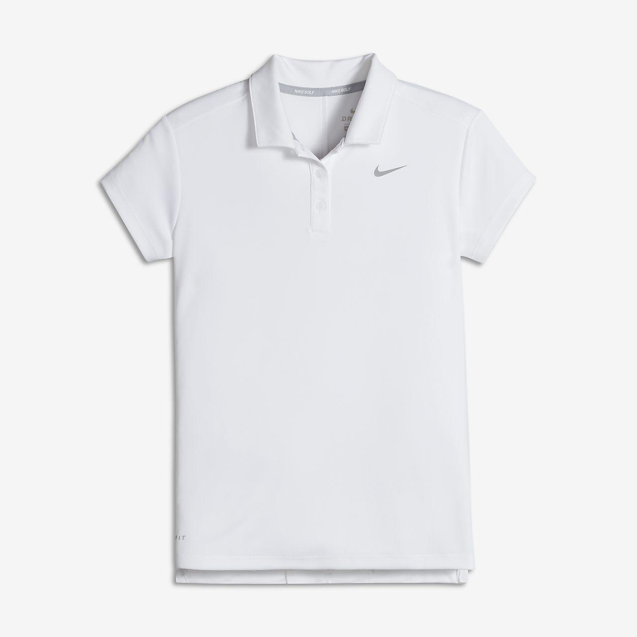 Polo de golf para niña talla grande Nike Dri-FIT Victory