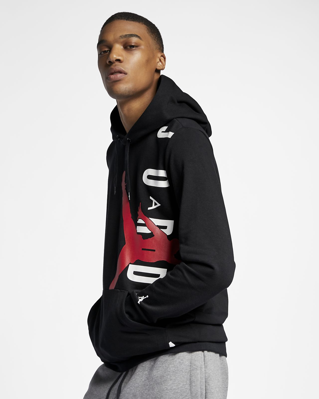 b7e0cac4c807fa Jordan Jumpman Air Lightweight Men s Fleece Sweatshirt. Nike.com LU