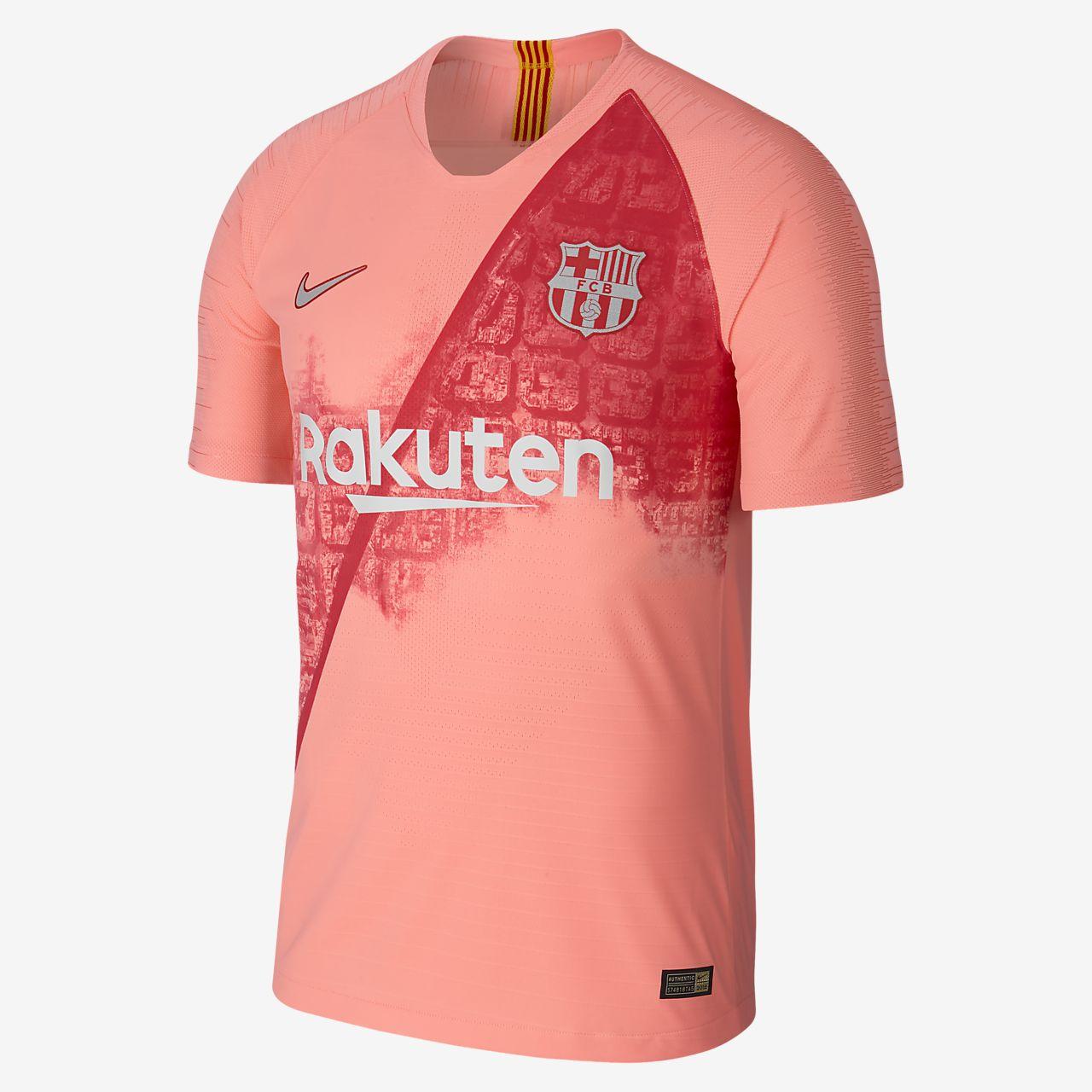 ff71cb3772dfa ... Camiseta de fútbol para hombre alternativa Vapor Match del FC Barcelona  para la temporada 2018