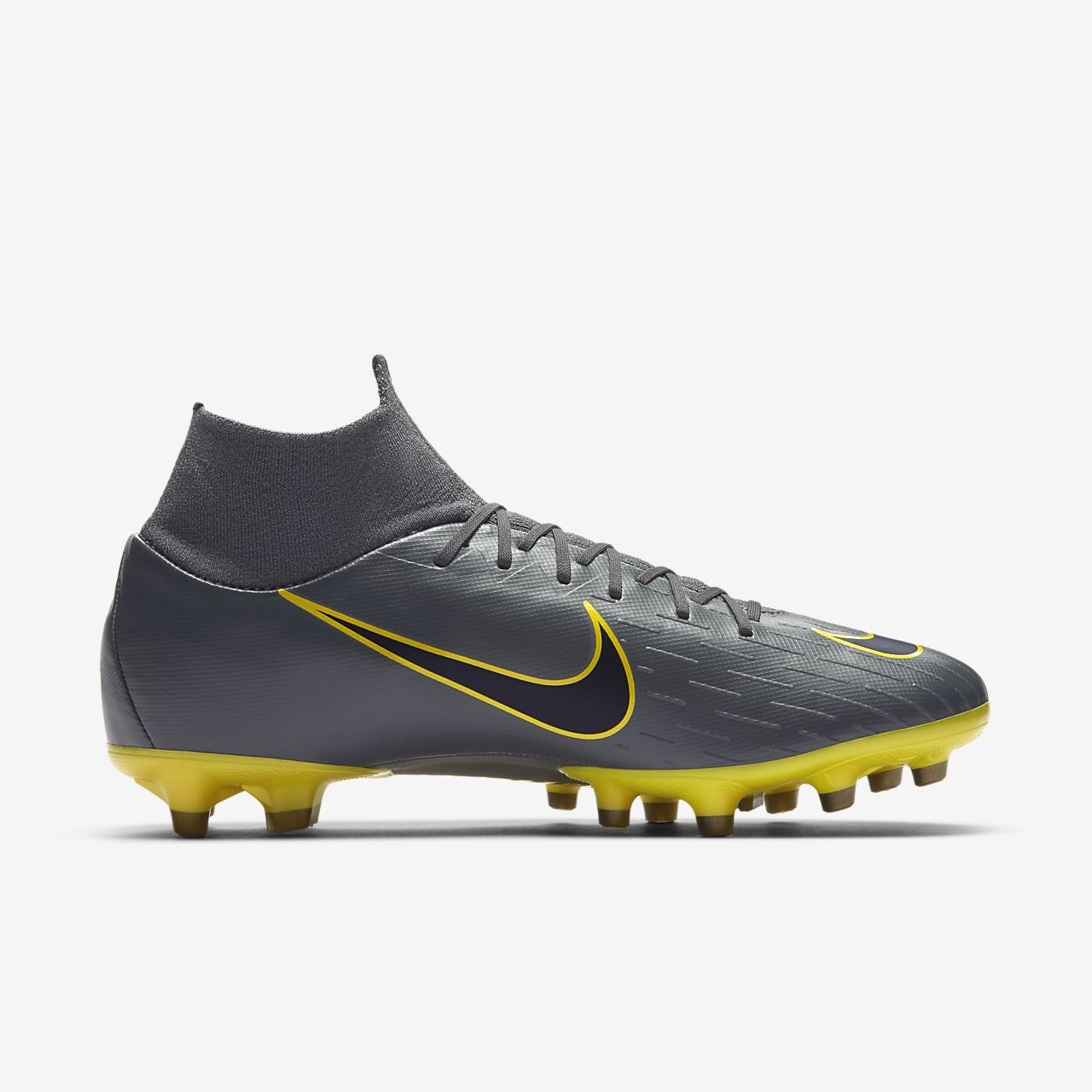 5143bd8909b7 Nike Mercurial Superfly VI Pro AG-PRO Artificial-Grass Football Boot ...