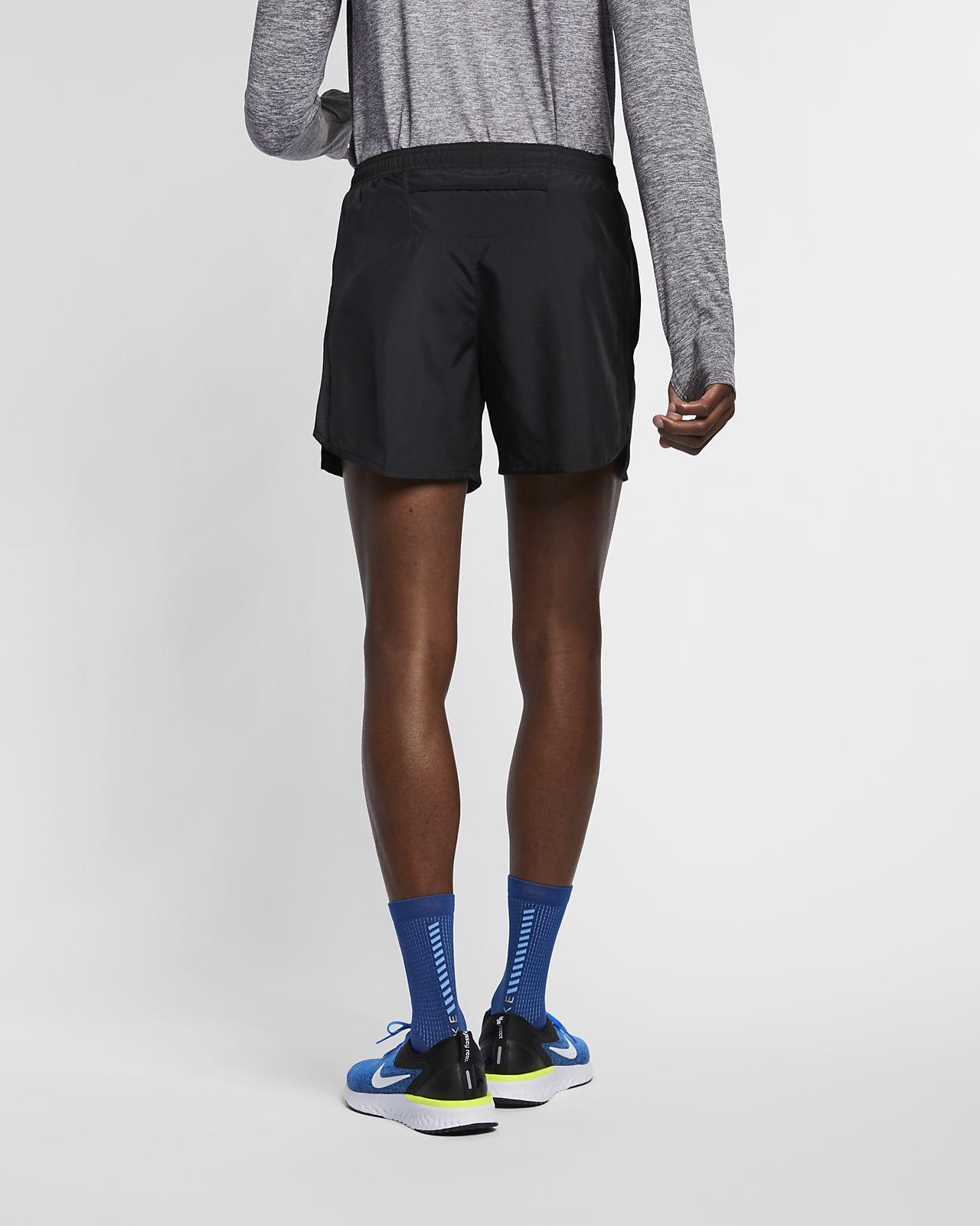 Shorts da running con slip foderati 13 cm Nike Challenger Uomo