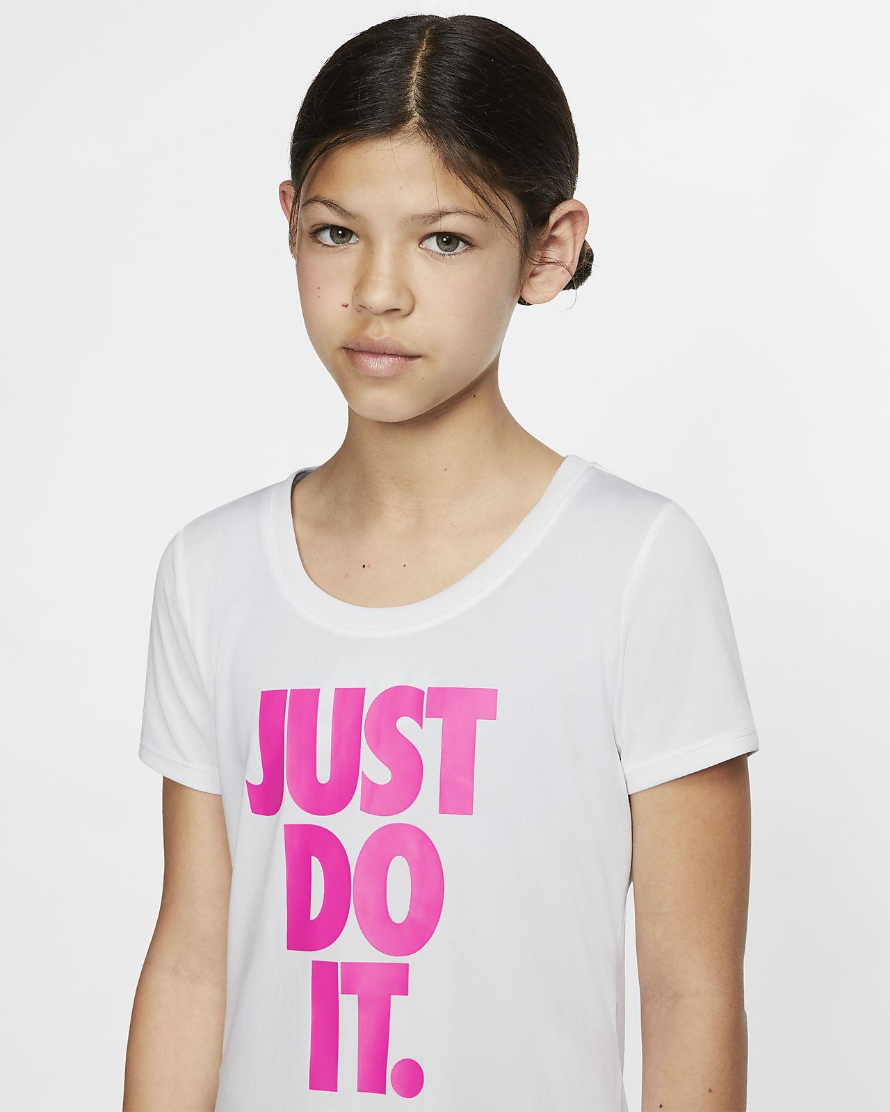 Nike M/ädchen Dri-fit T-Shirt