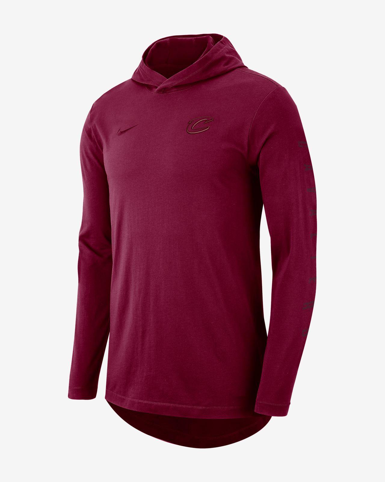 30446a0ce98a Cleveland Cavaliers Nike Men s Hooded Long-Sleeve NBA T-Shirt. Nike.com