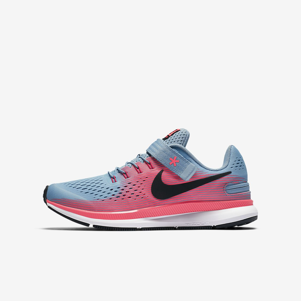 ... Nike Zoom Pegasus 34 FlyEase Big Kids' Running Shoe