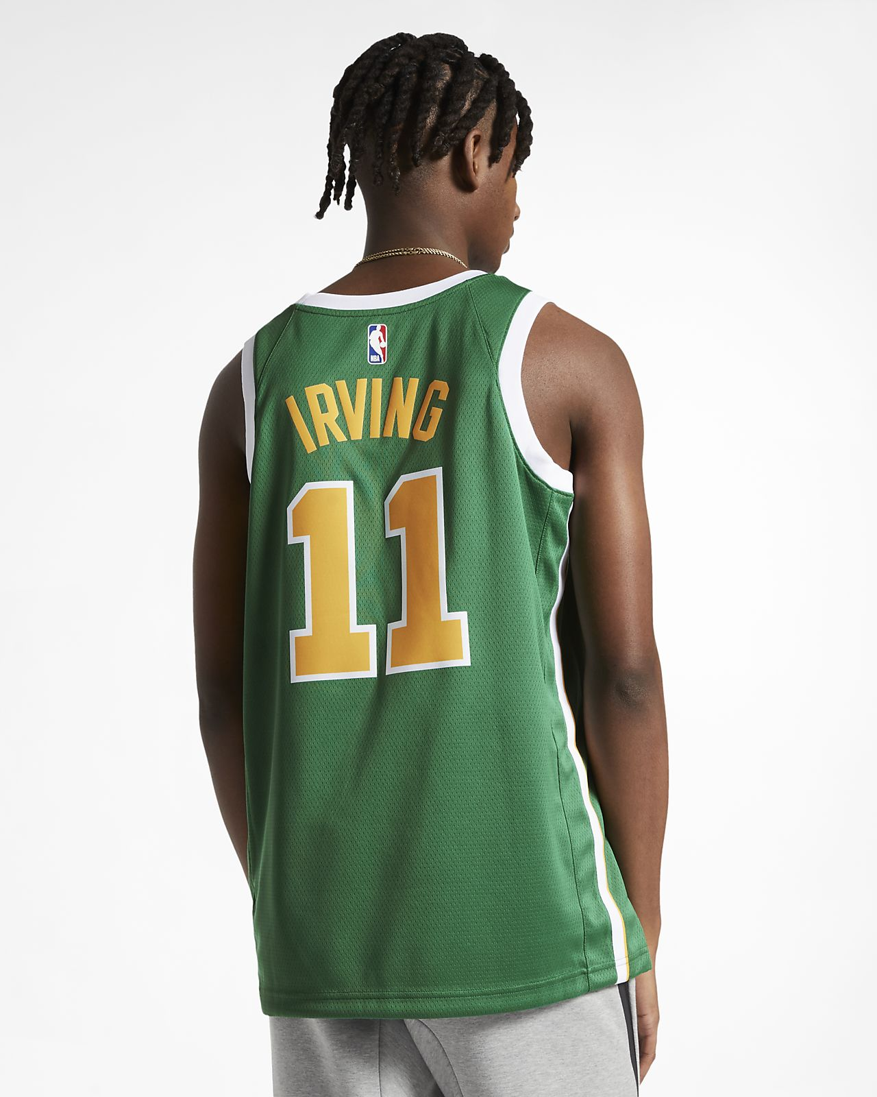 ... Kyrie Irving Earned City Edition Swingman (Boston Celtics) Men s Nike  NBA Connected Jersey 9cddc2a3c